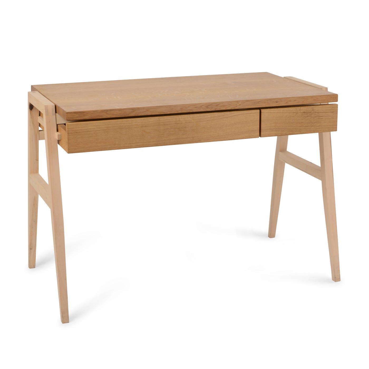 Heal's Oak And Hazel Desk