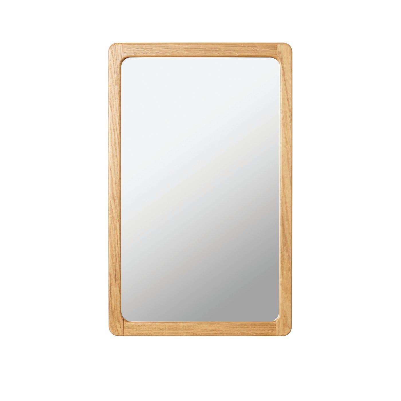 Scp Agnes Small Oak Mirror