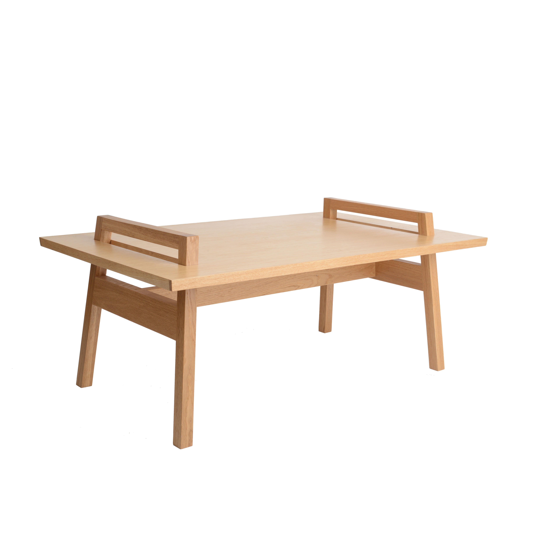 A Frame Oak Coffee Table