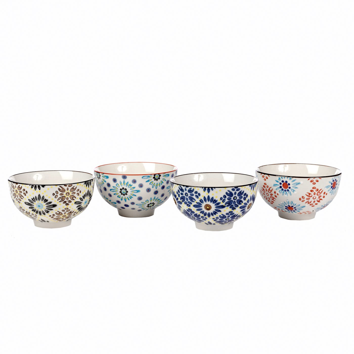 Pols Potten Mosaic Bowl Assorted Set of 4