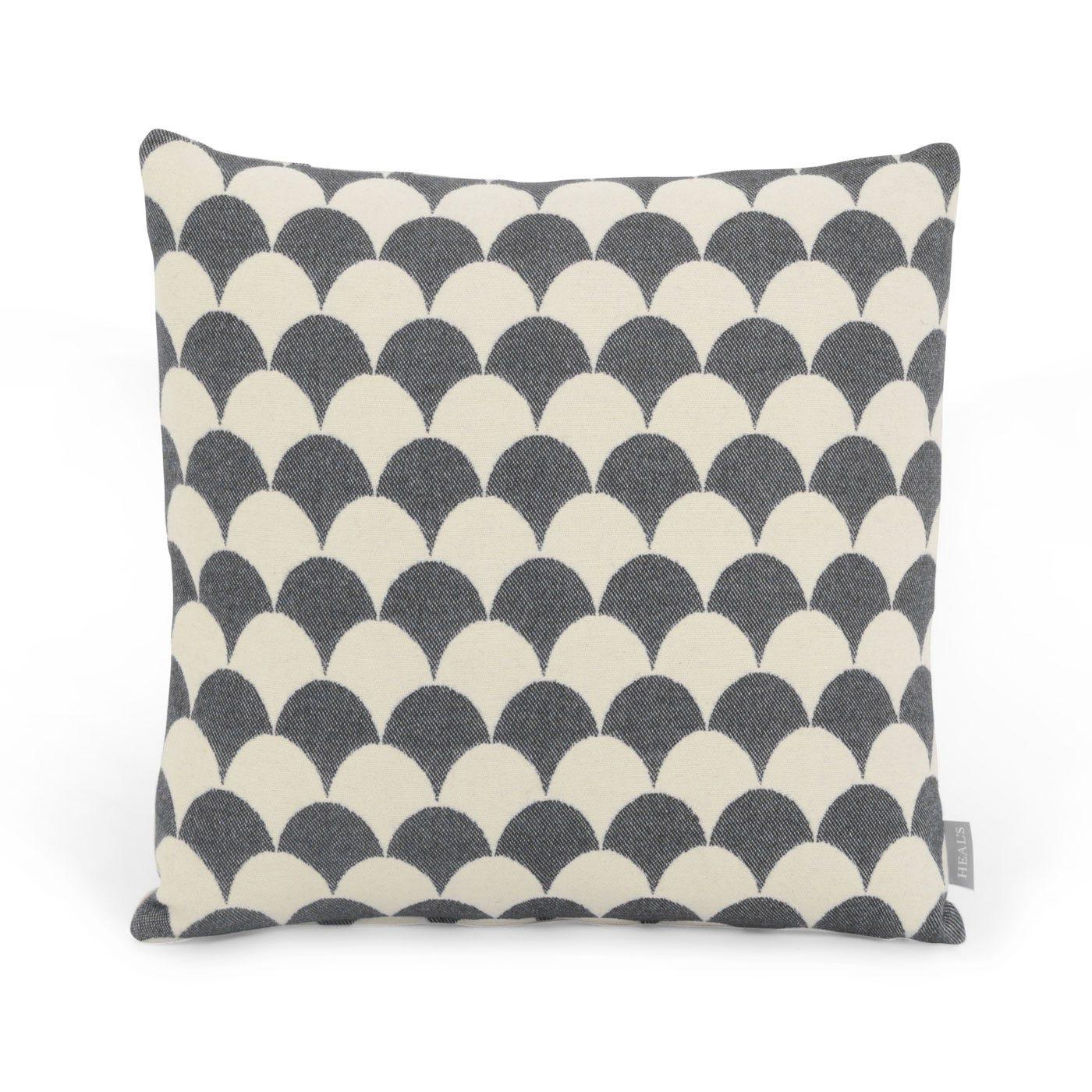Scale Cushion Grey