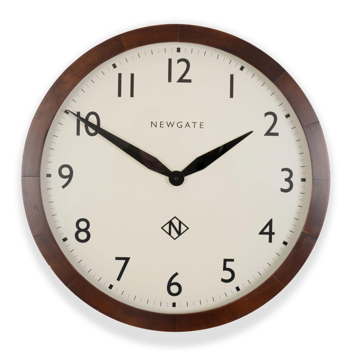 newgate billingsgate large wall clock heal s. Black Bedroom Furniture Sets. Home Design Ideas