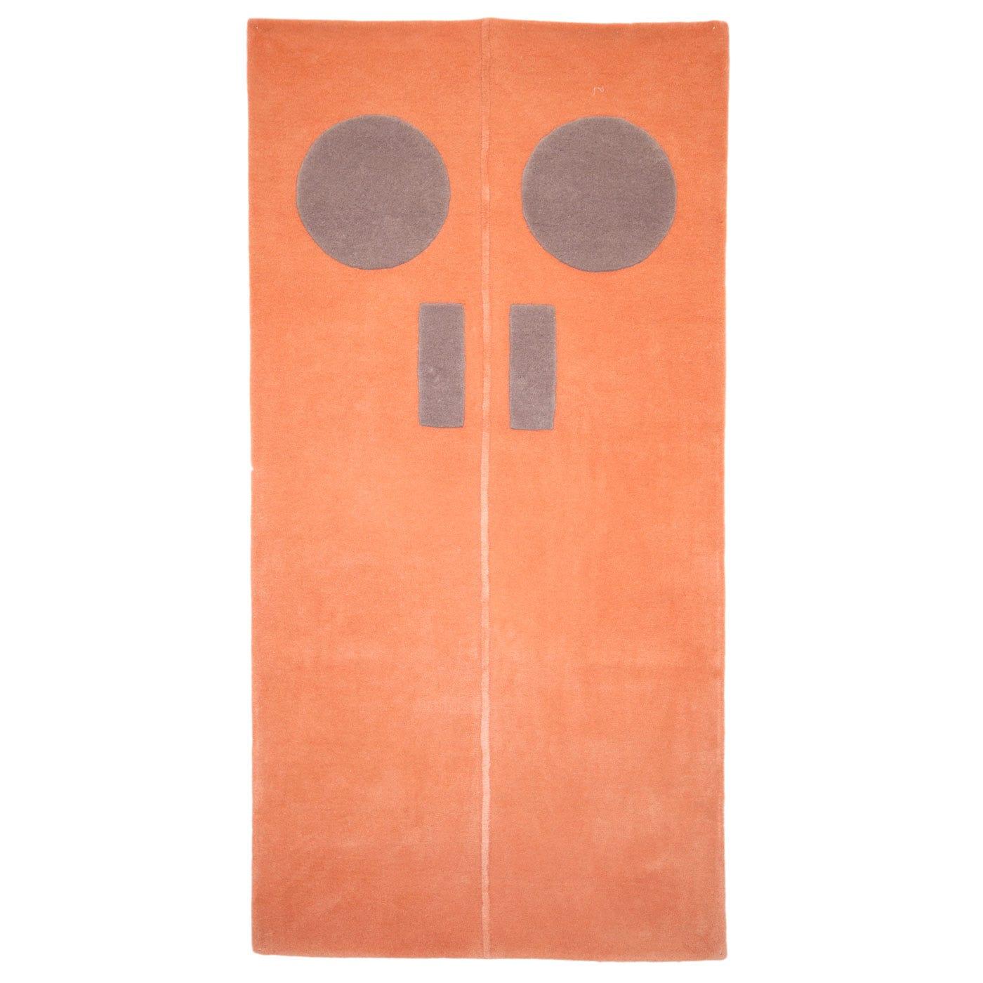 Door Rug Orange