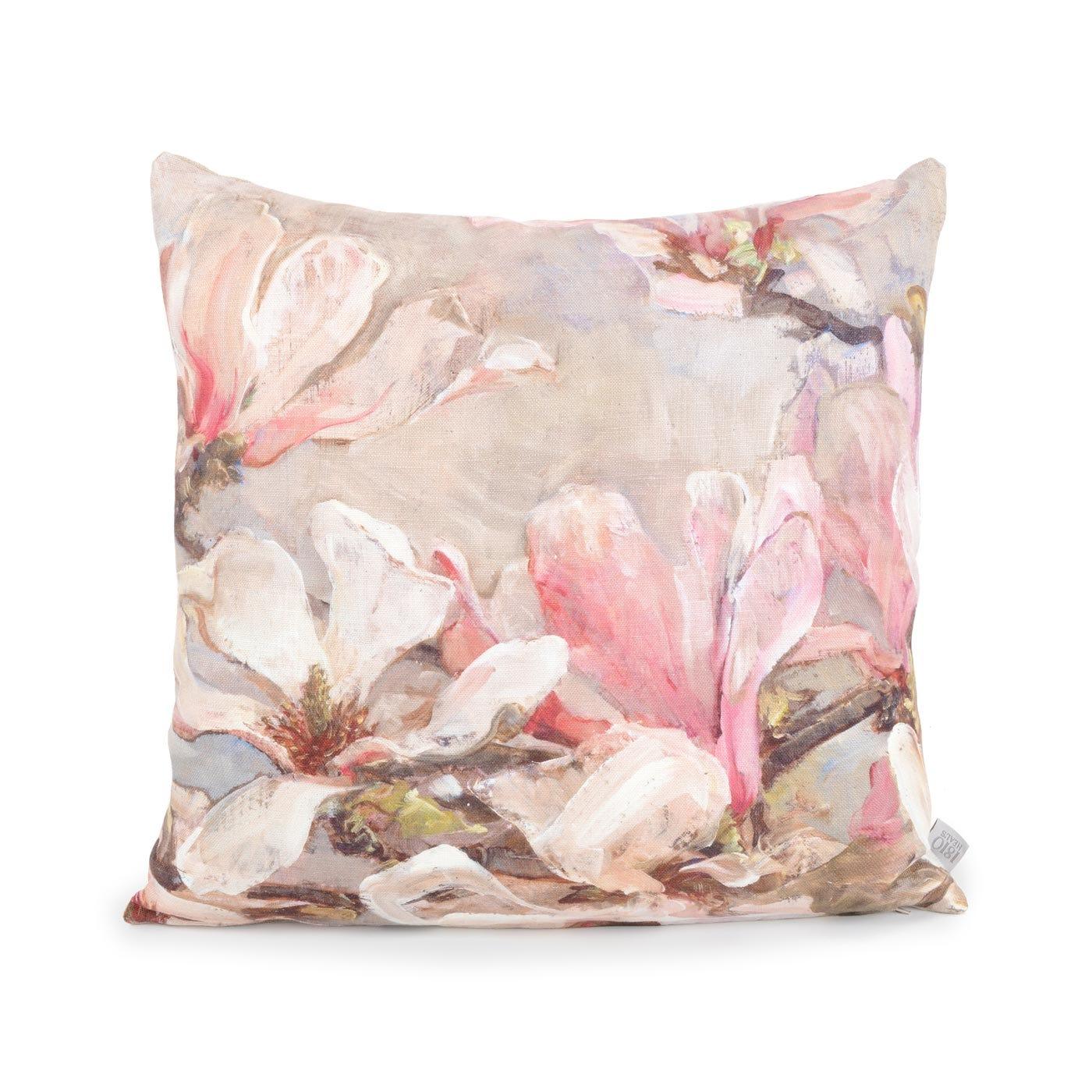 Grand White Petals Cushion