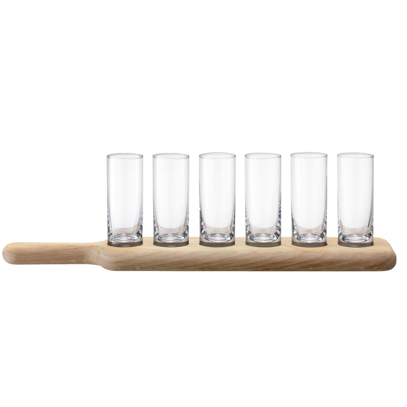Paddle Christmas Vodka Set & Oak Paddle