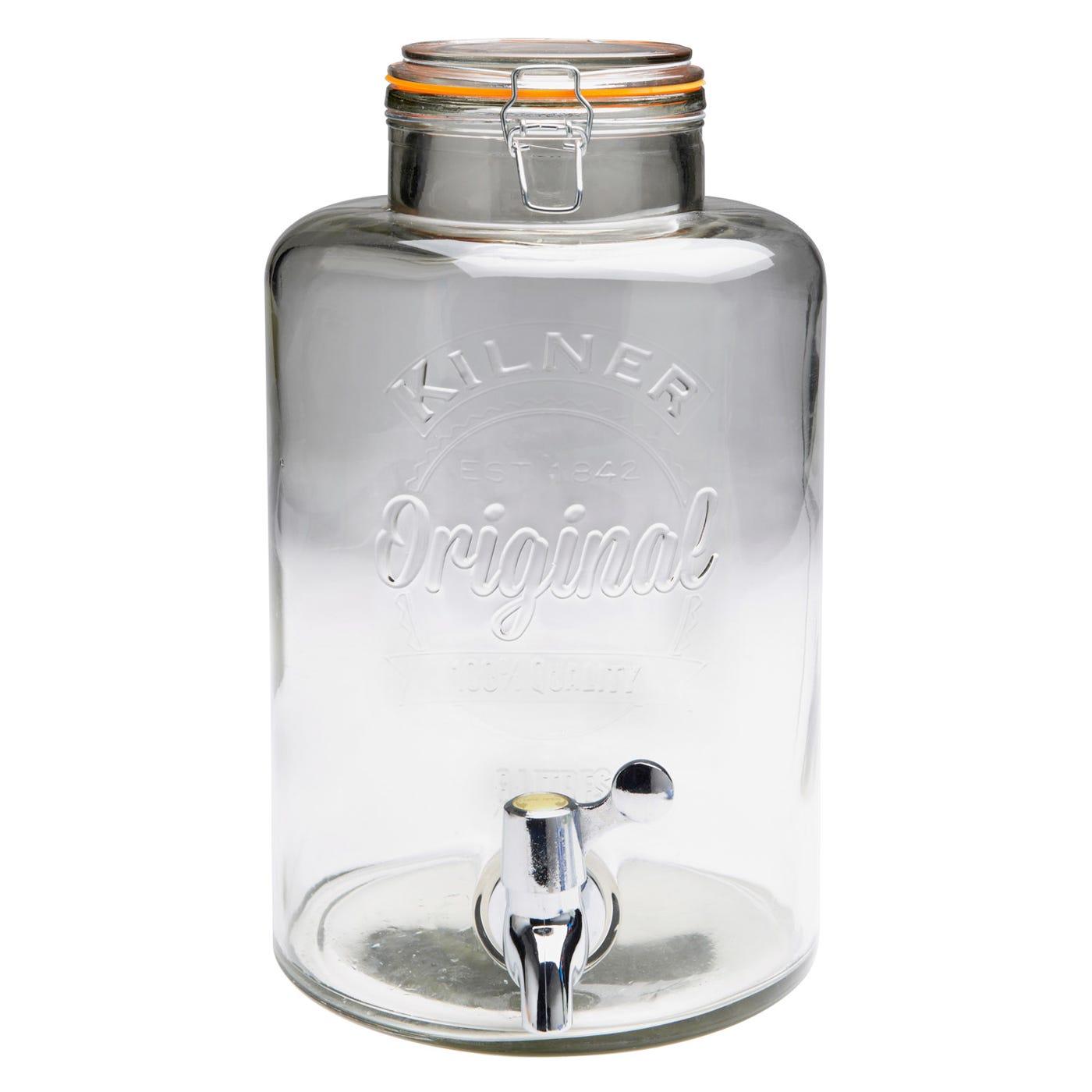 Clip Top Drinks Dispenser 8 Litre