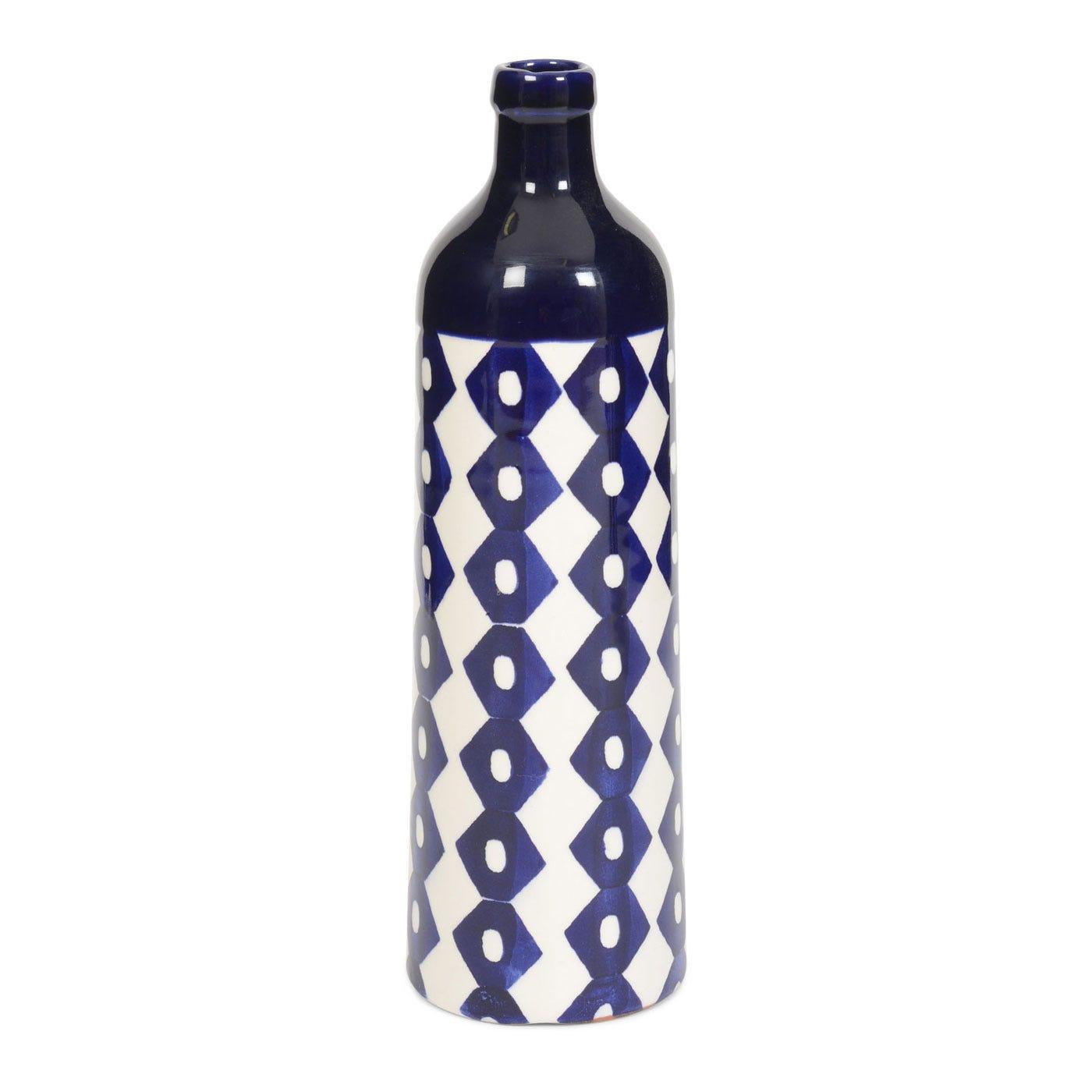 Ink Medium Ceramic Bottle Diamond