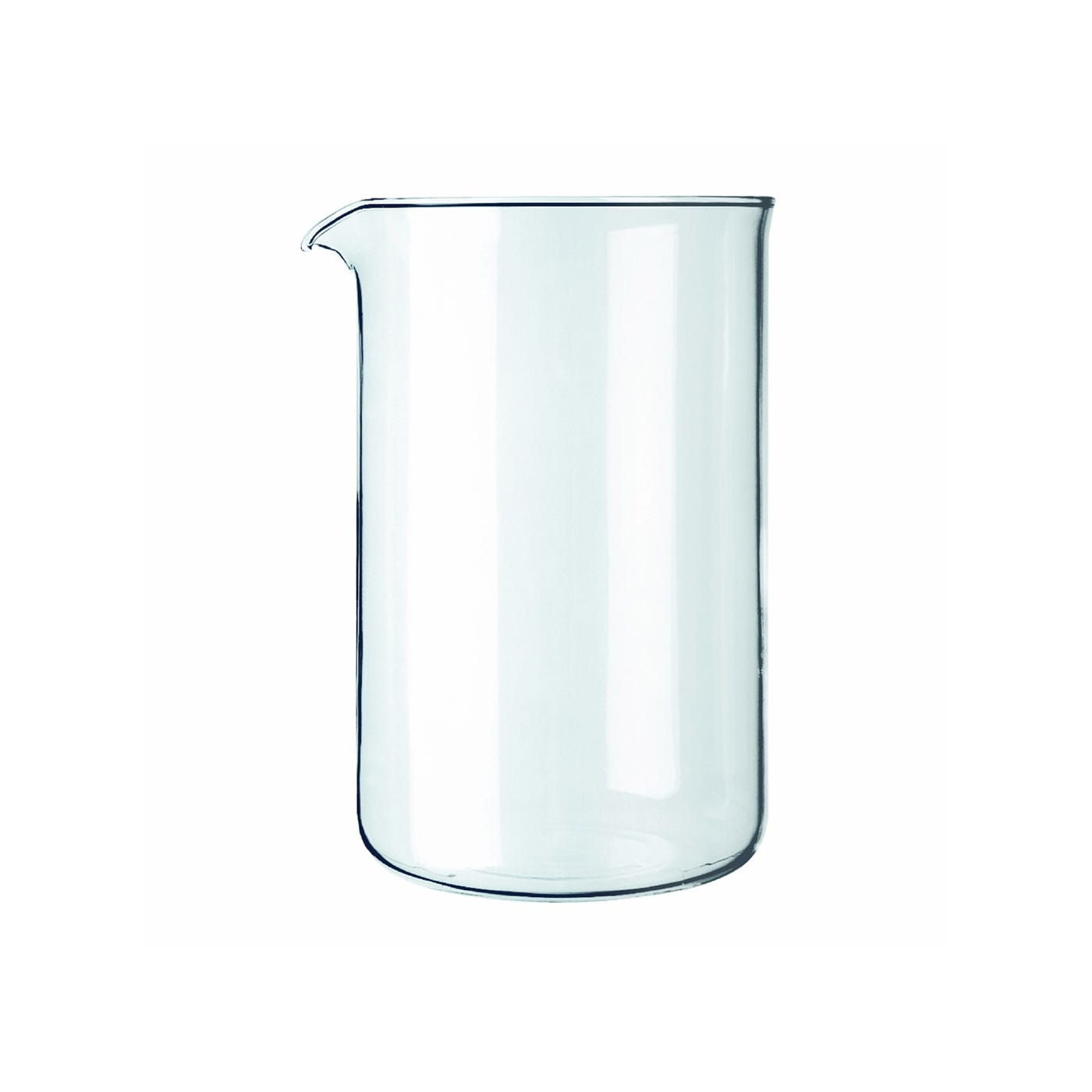 Bodum Cafetiere 8 Cup Replacement Glass