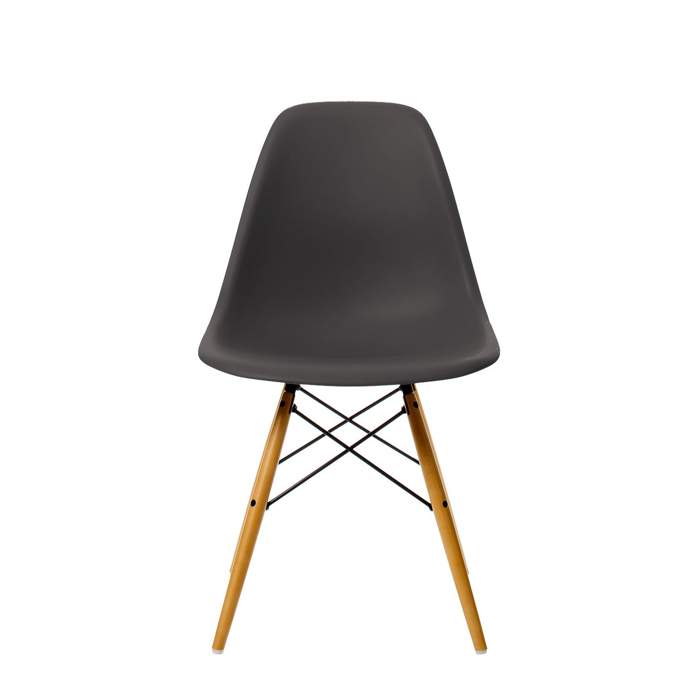 Eames Plastic Chair Dsw 35 Basalt Maple