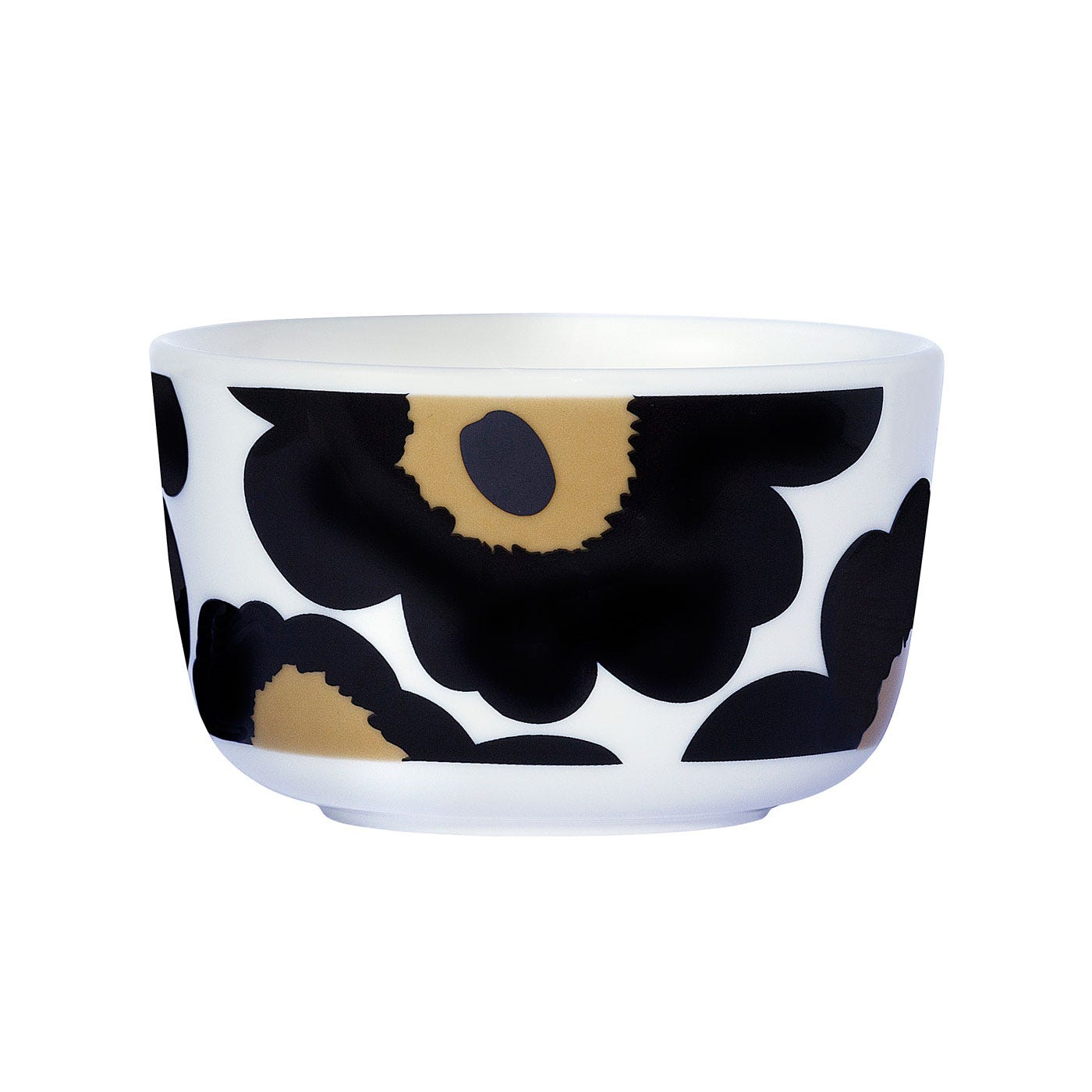 Marimekko Unikko Black Small Bowl