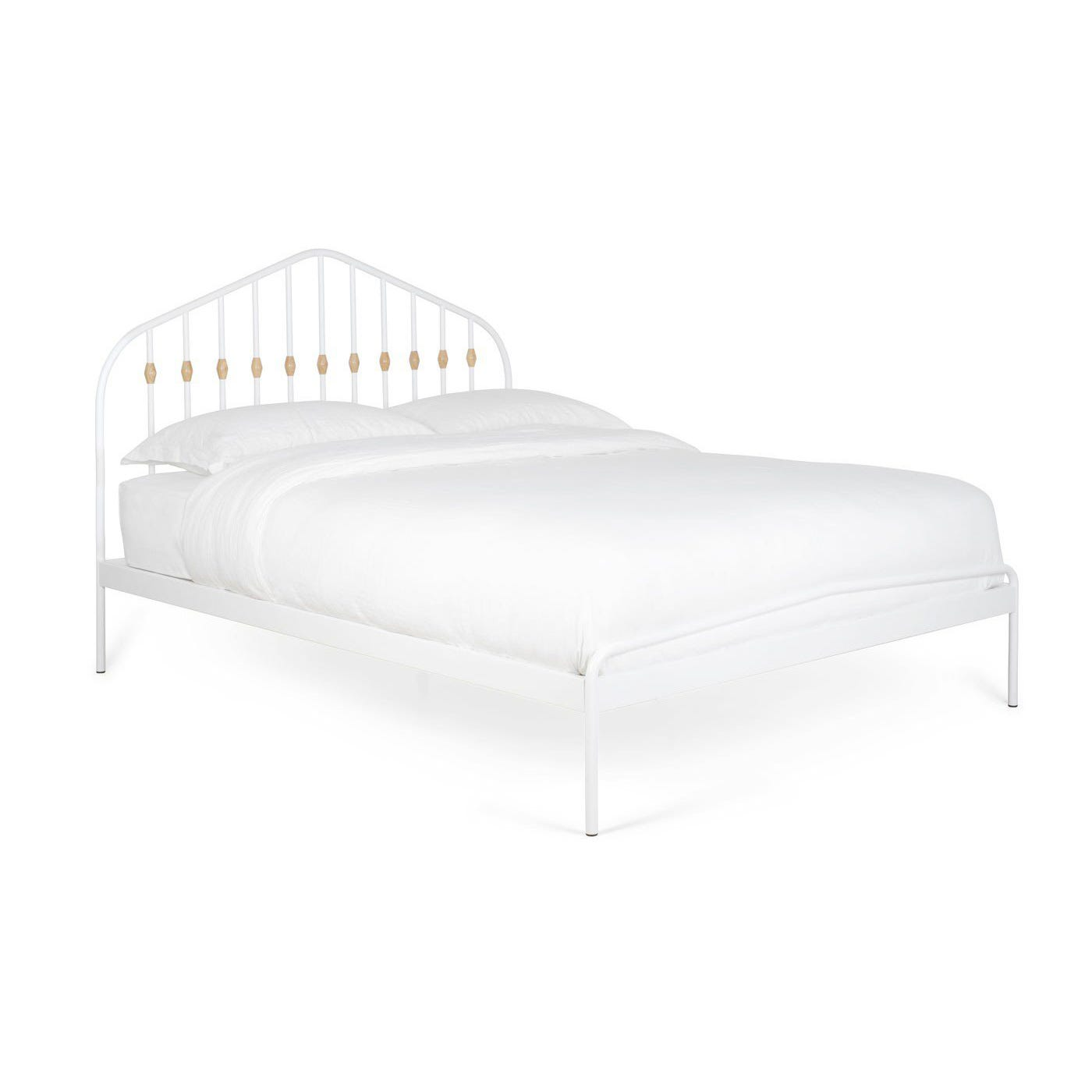 Abacus Bed Single White - Discontinued