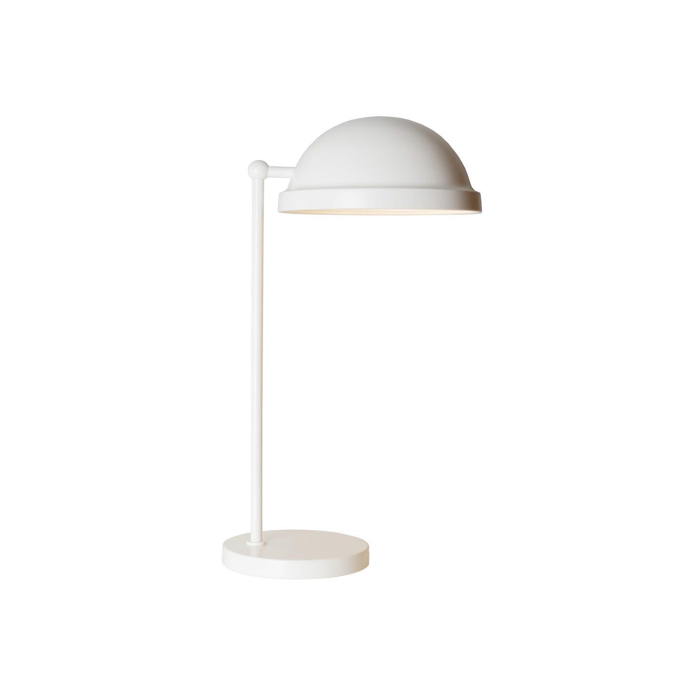 Bowler Table Lamp White