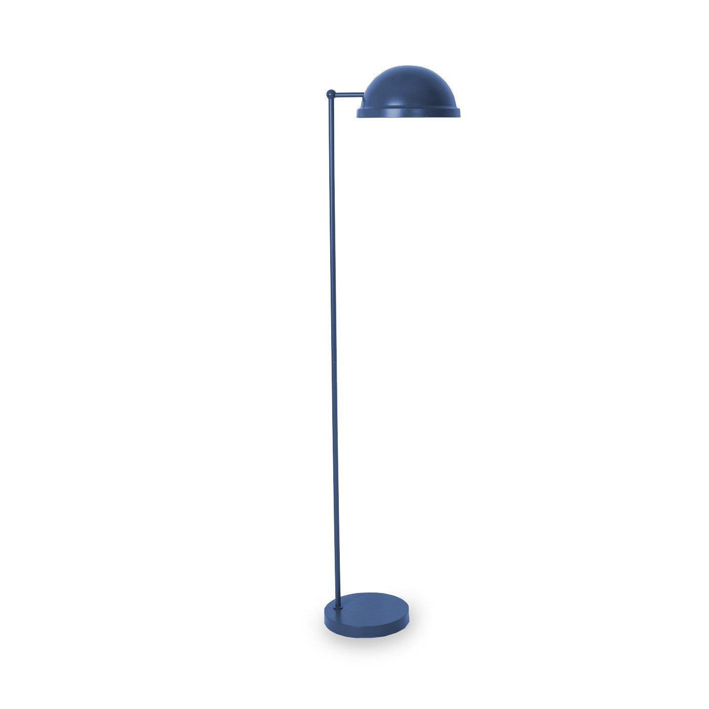 Bowler Floor Lamp Petrol Blue