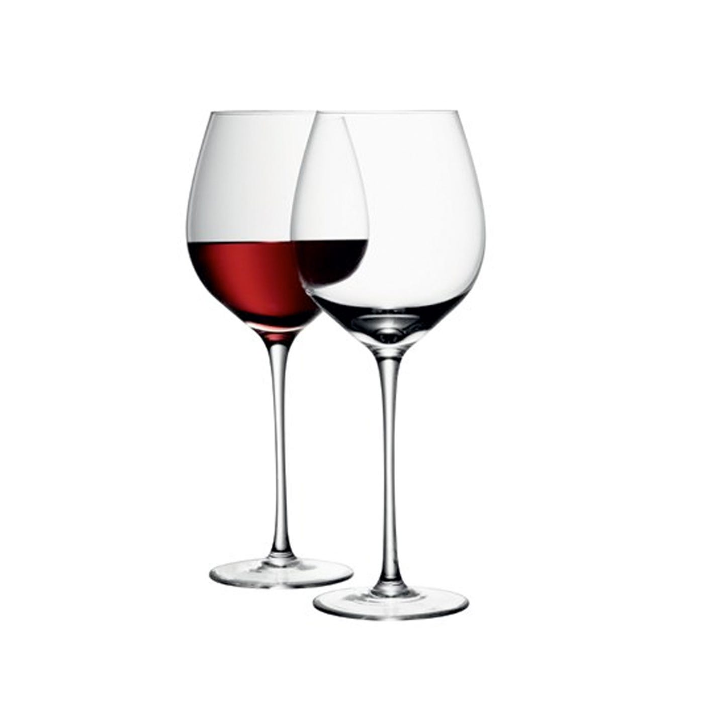 LSA International Wine Red Wine Glass 750ml Clear Set Of 6