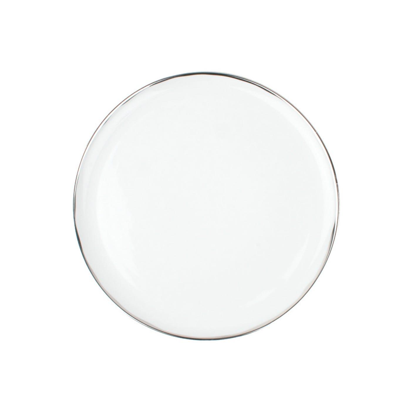 Dauville Dinner Plate Platinum