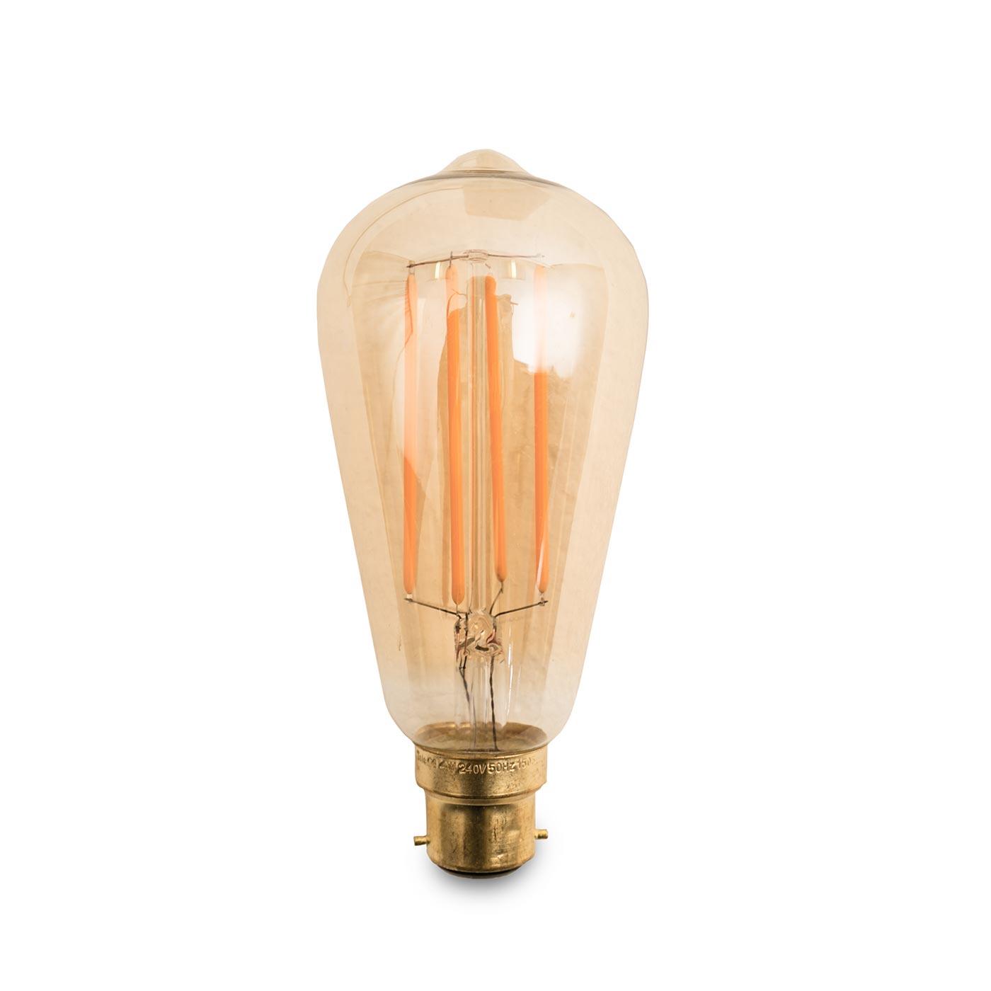 Squirrel Cage LED Bulb 4W B22
