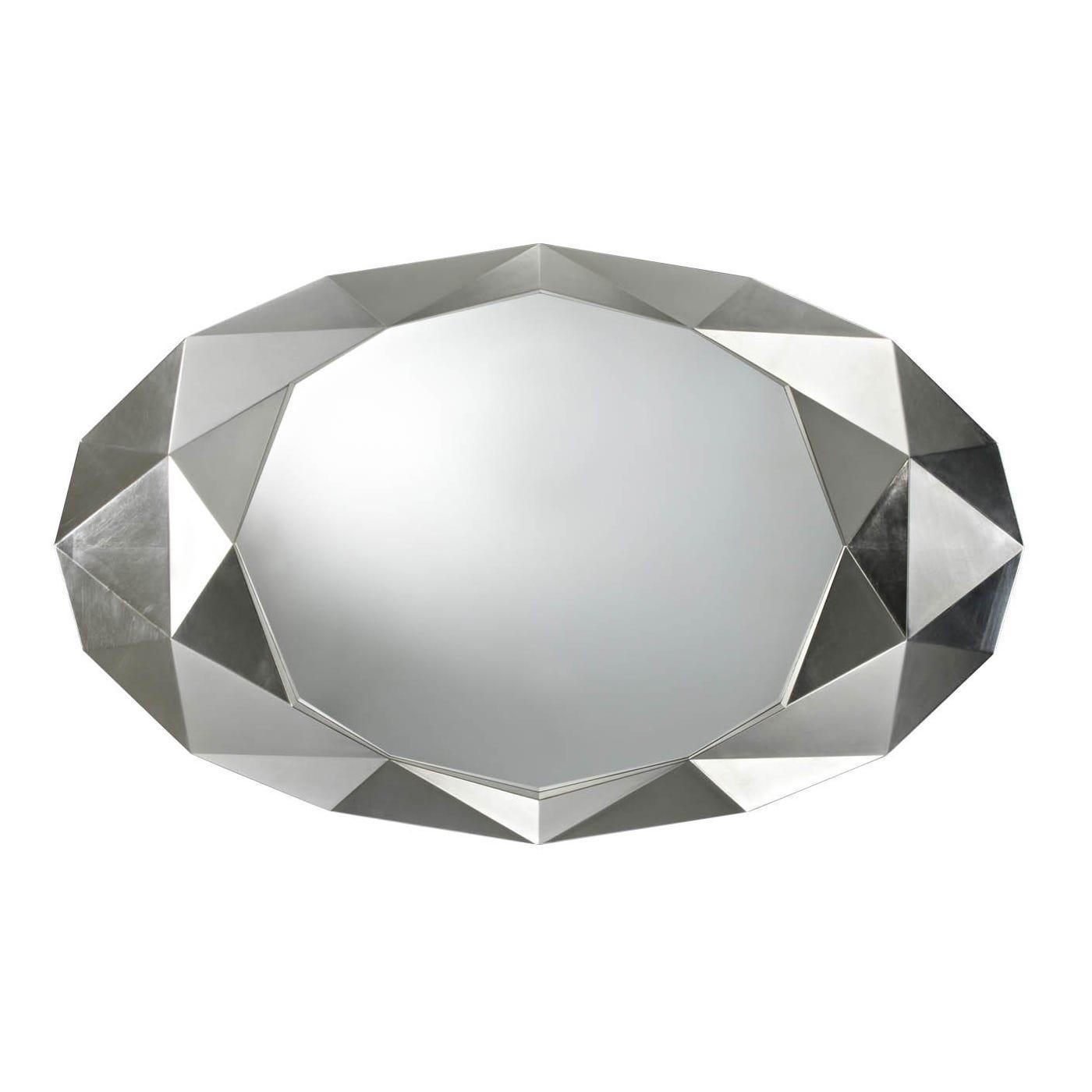 Precious White Mirror