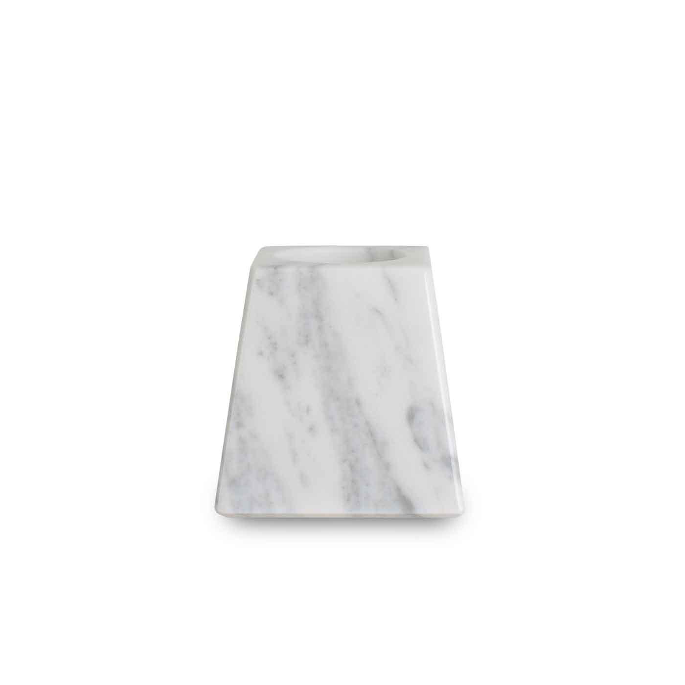 Marble Prism Tealight Holder