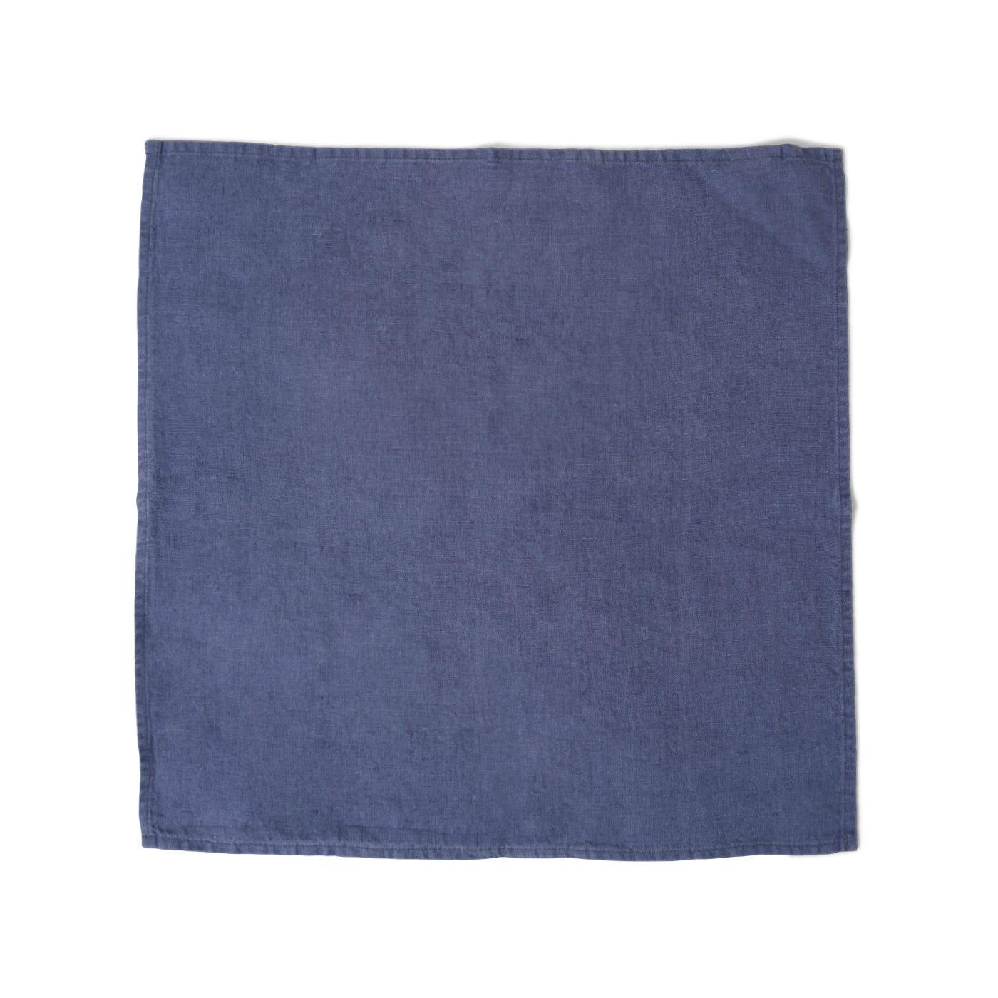 Heal's Linen Napkin Denim Blue