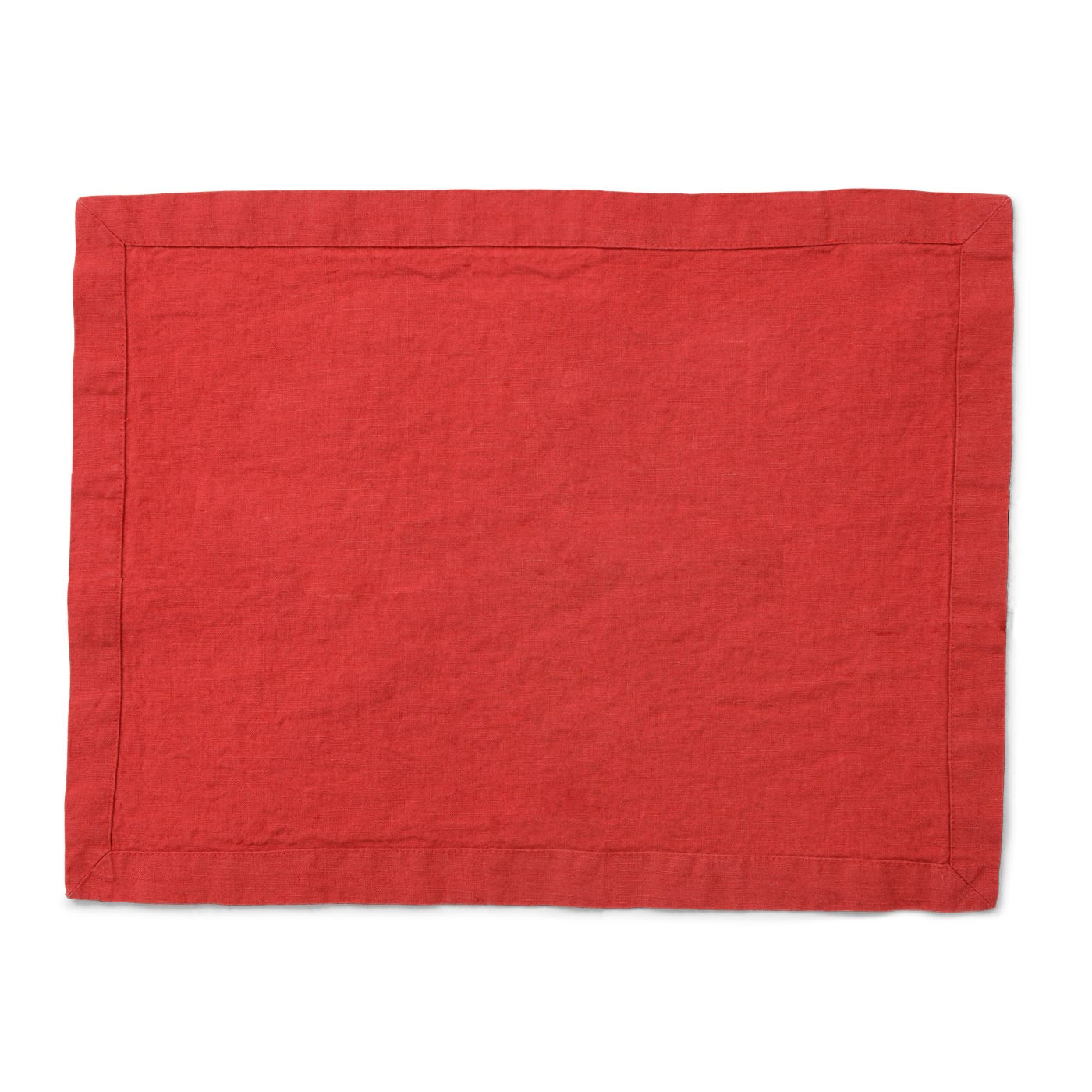 Heal's Heal's Linen Placemat Red