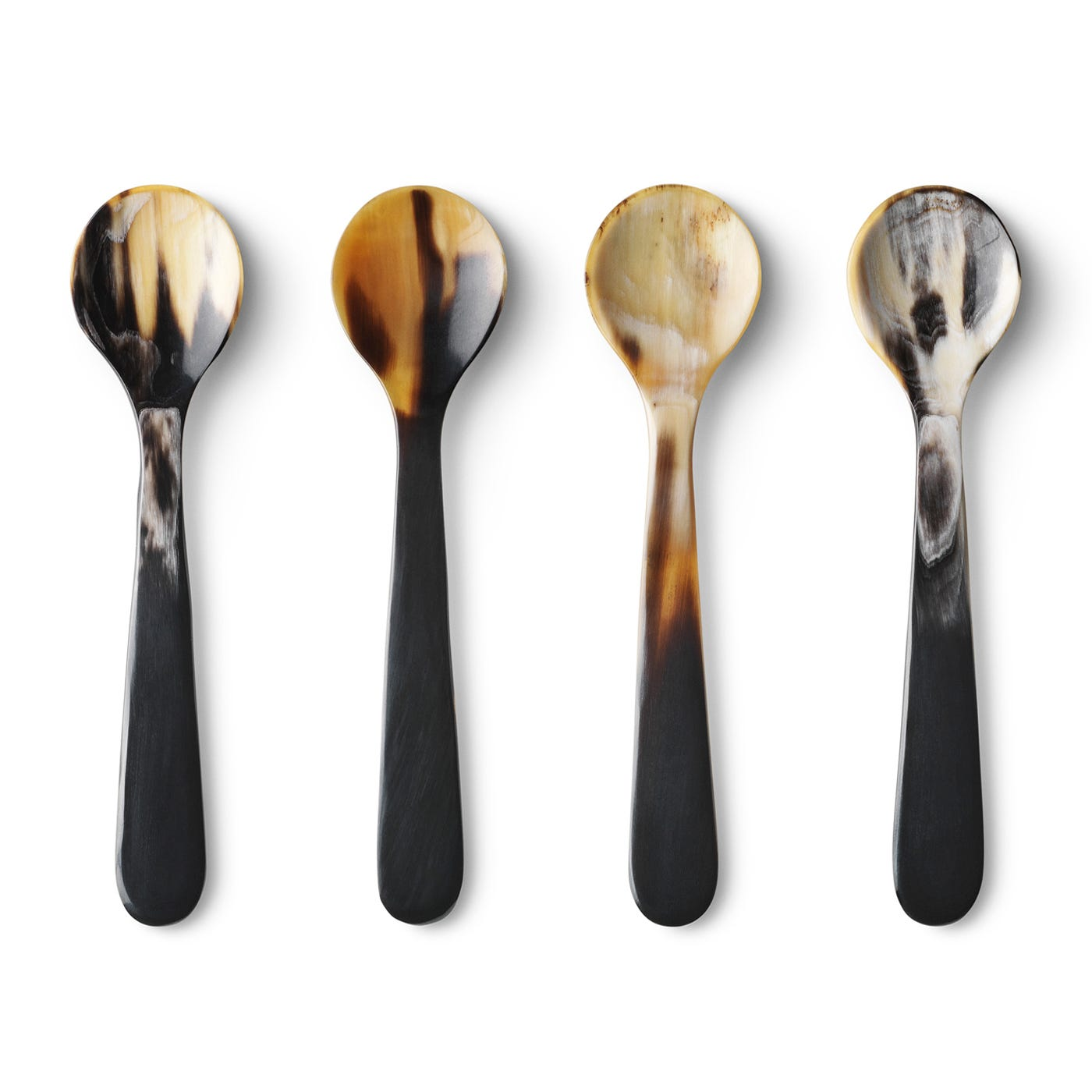 Alfredo Horn Spoons Set Of 4