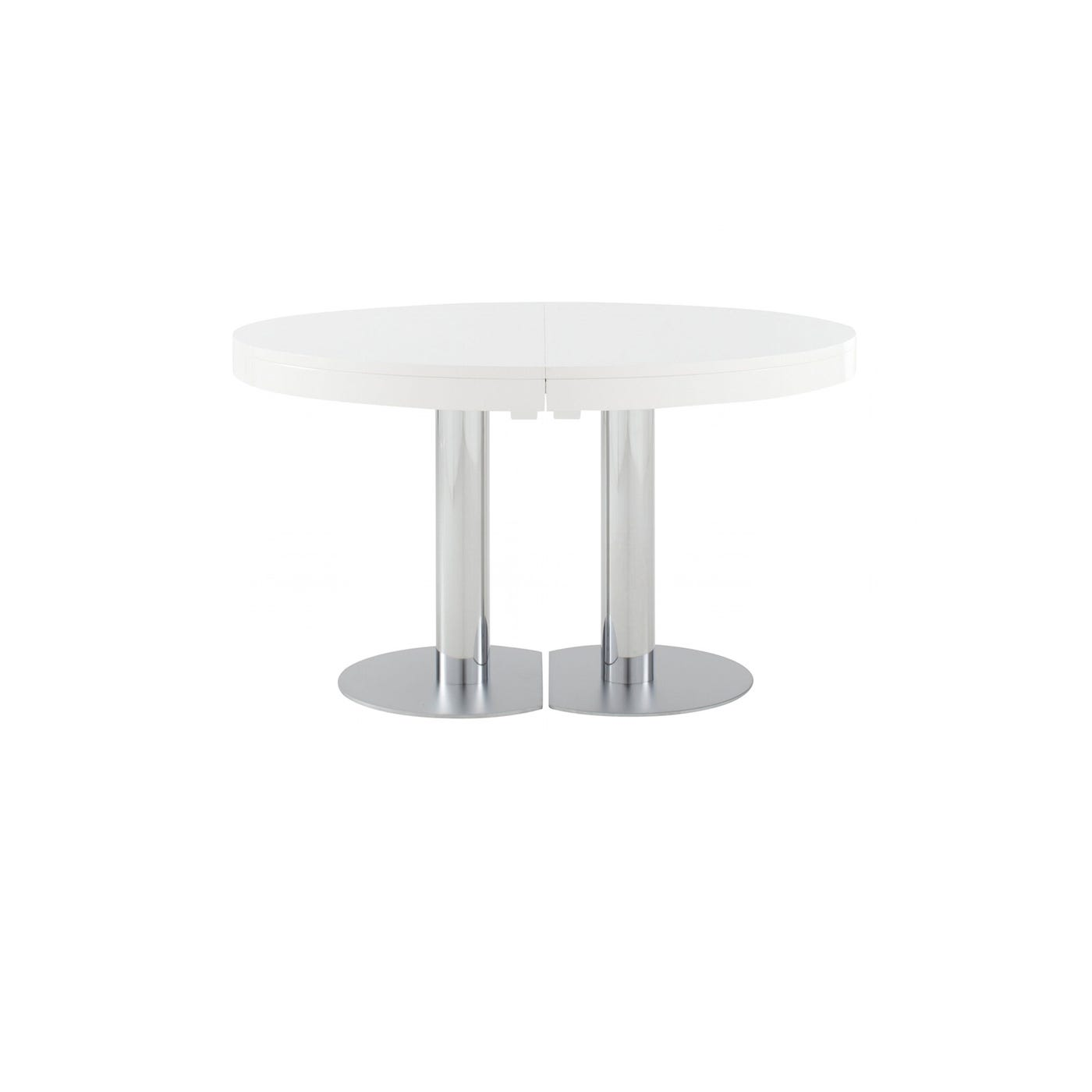 Ligne Roset Craft Dining Table 4-6 Seater White Gloss