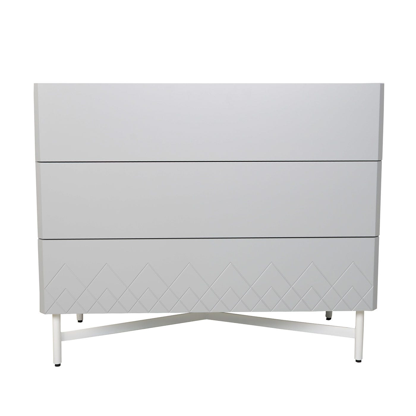 Dodie 3 Drawer Chest of Drawers Grey
