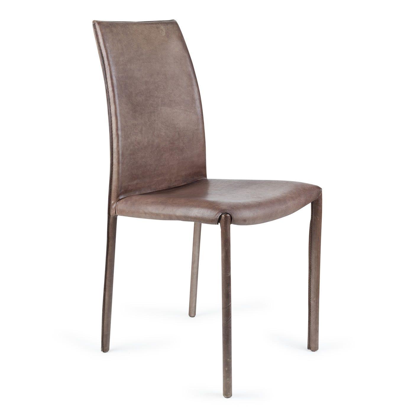 Buffalo Side Chair Grey