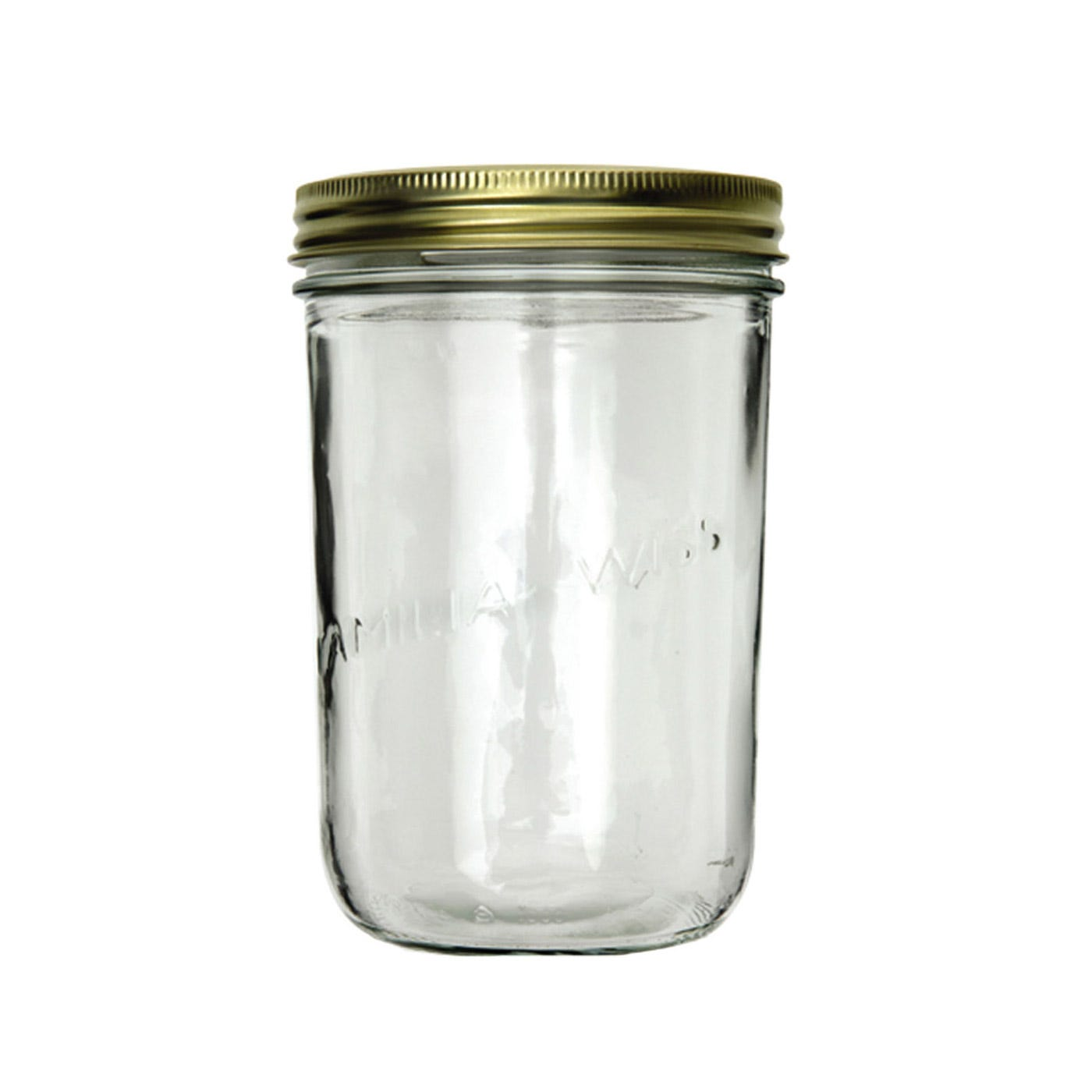 Le Parfait Brass Lidded Jar