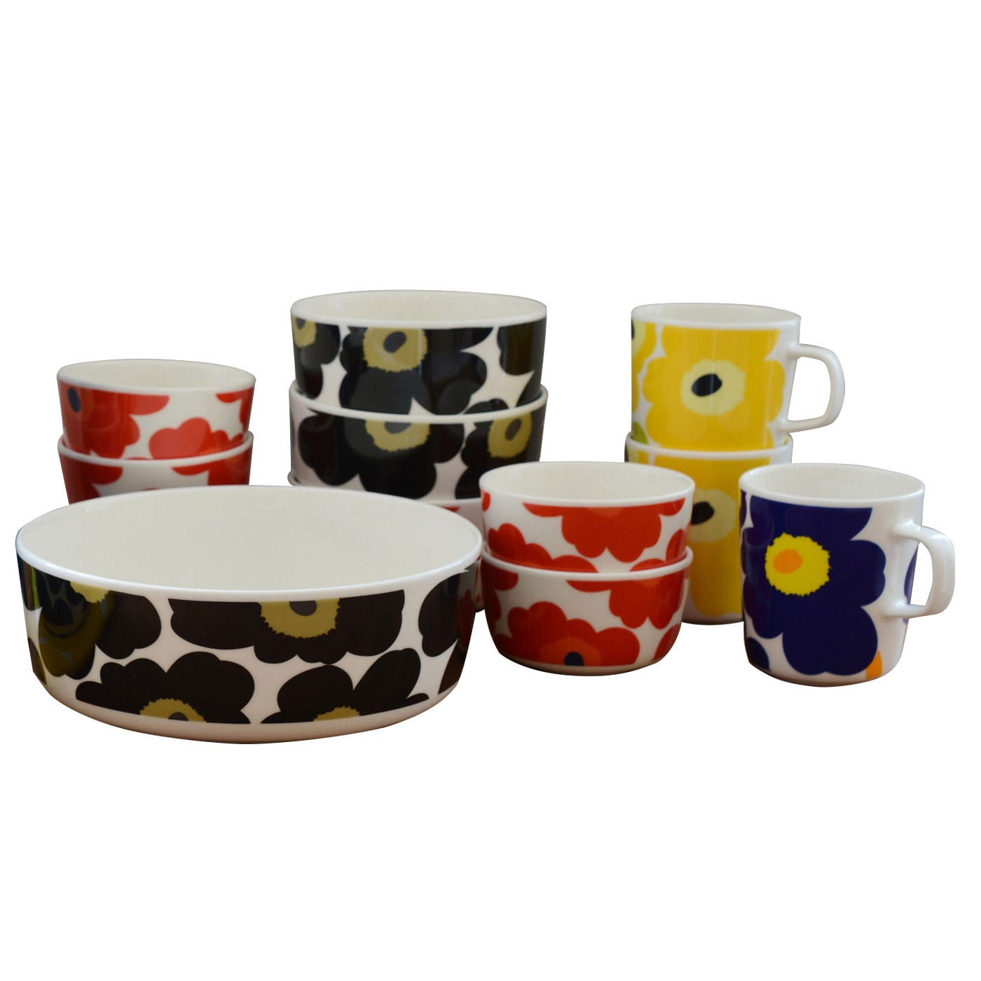 Marimekko Unikko Dinnerware