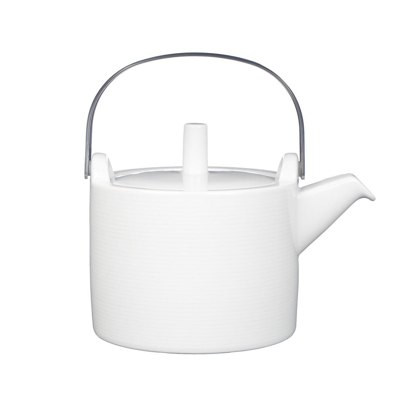 Loft White Teapot