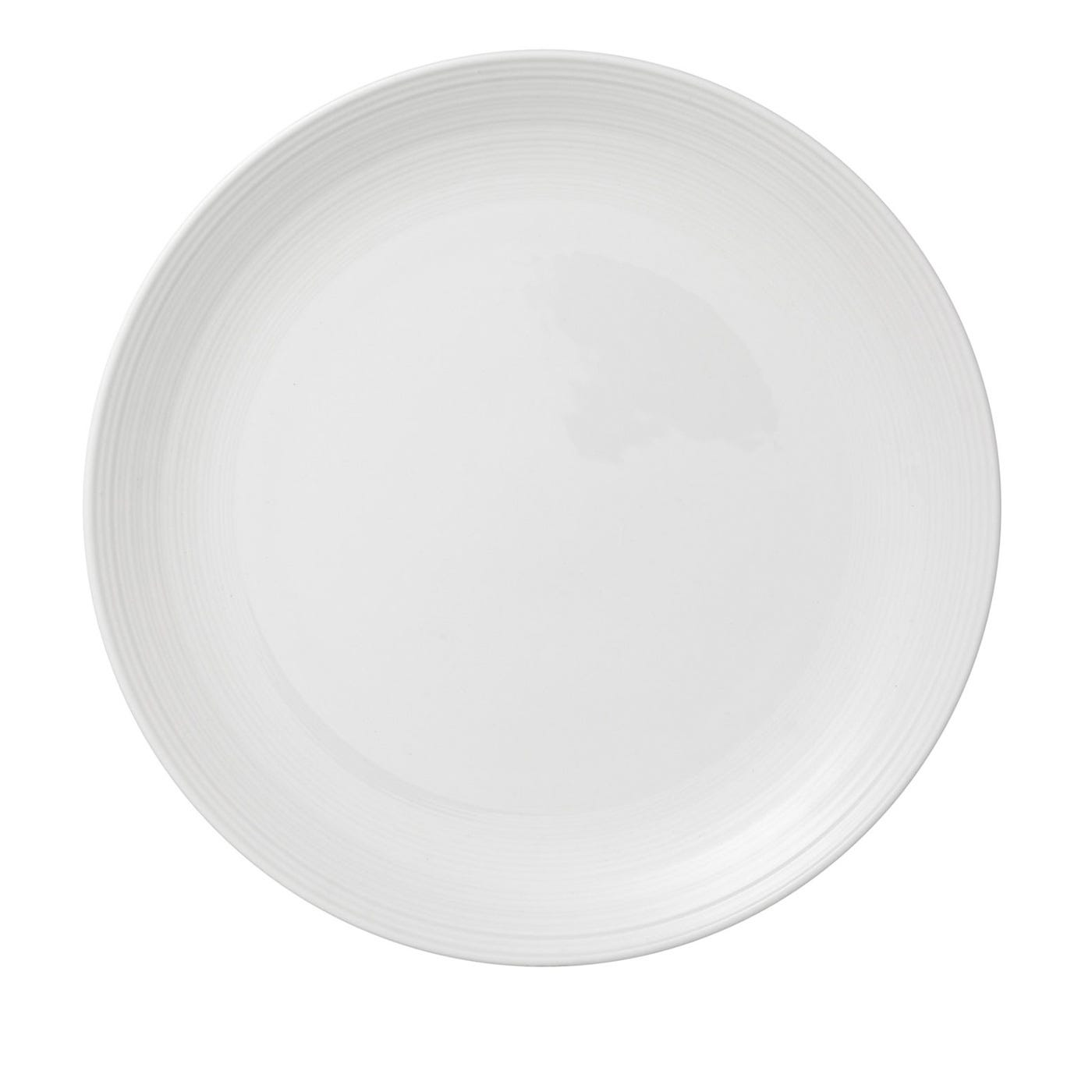 Loft White Round Plate