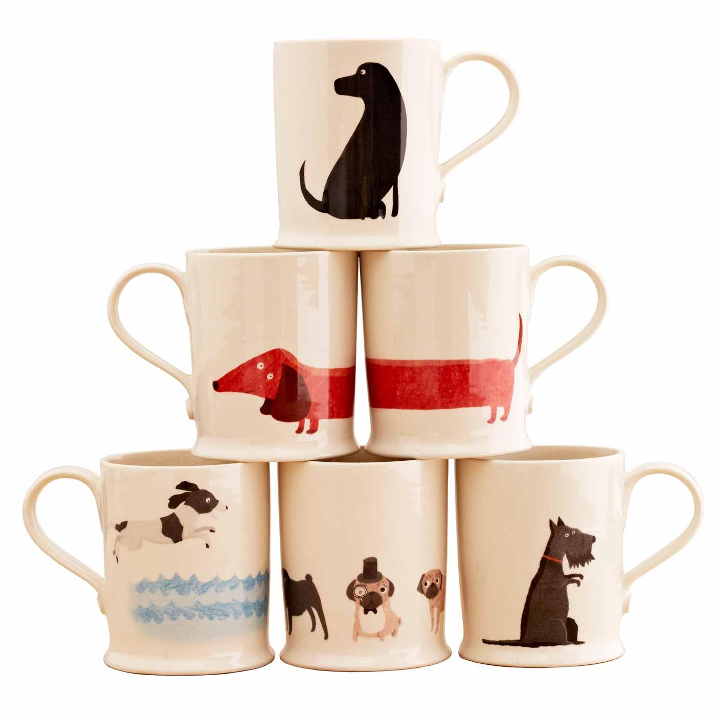 Fenella Smith Animal Mugs