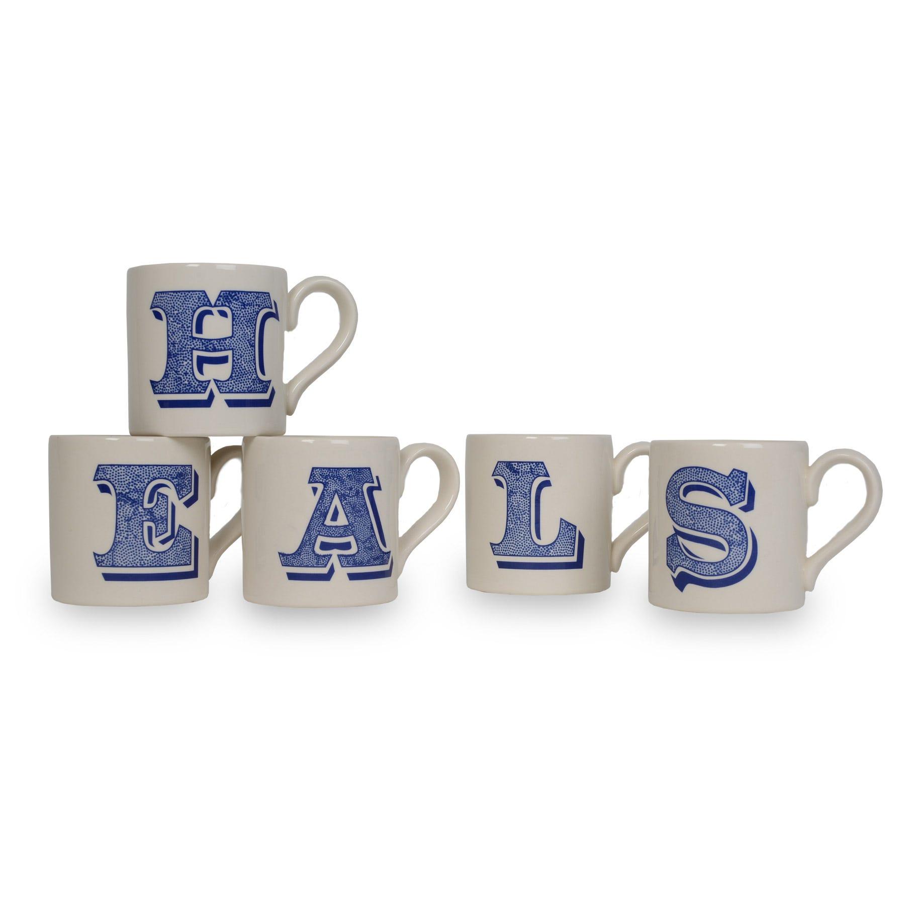 Heal's Alphabet Mug