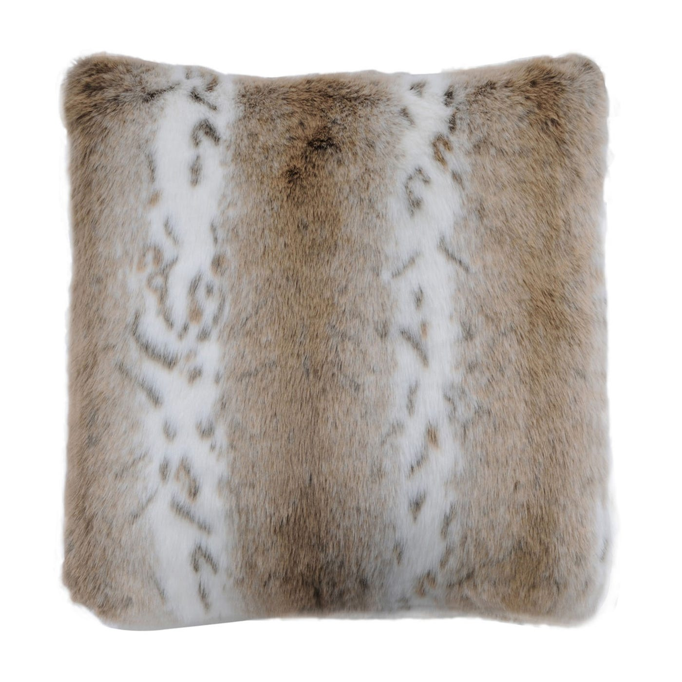heal 39 s lynx faux fur cushion heal s. Black Bedroom Furniture Sets. Home Design Ideas