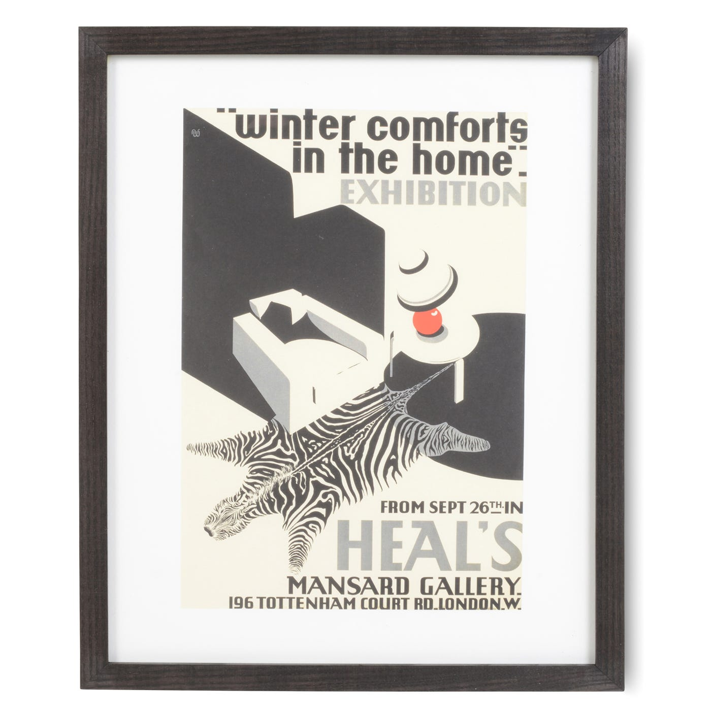 Heal's Winter Comforts Framed Print