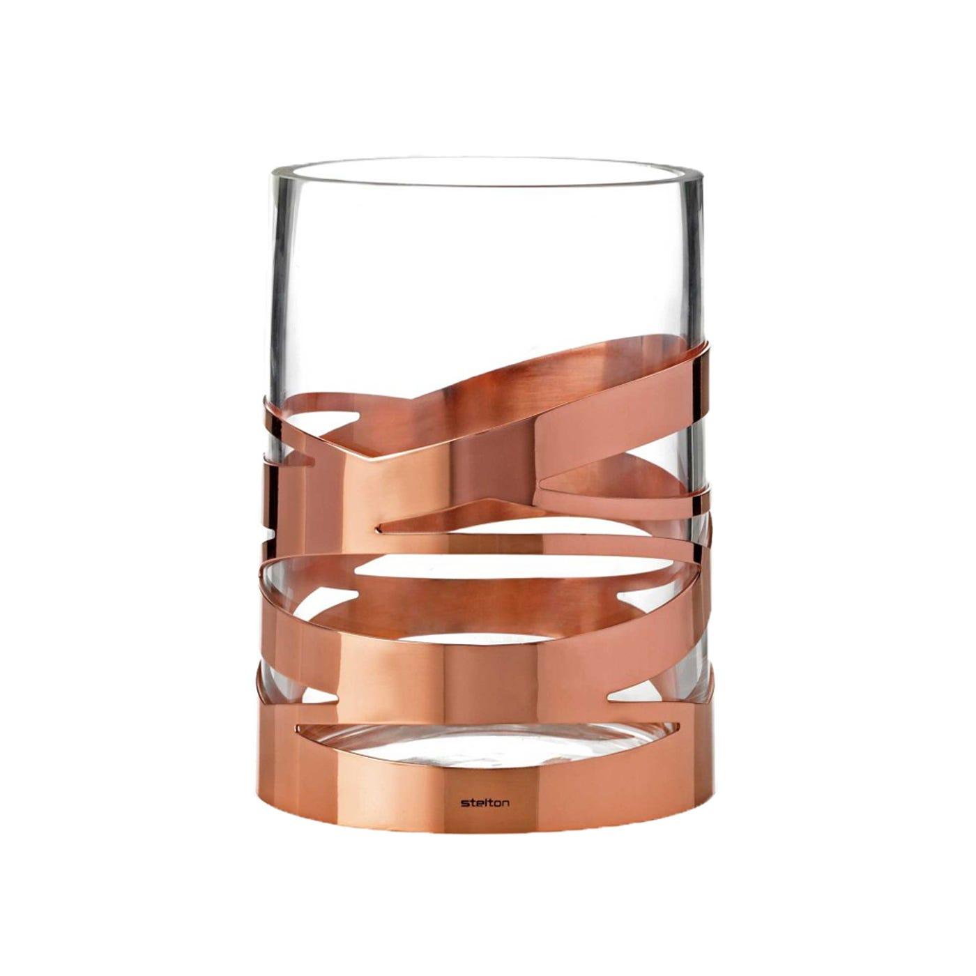 Copper Tangle Vase