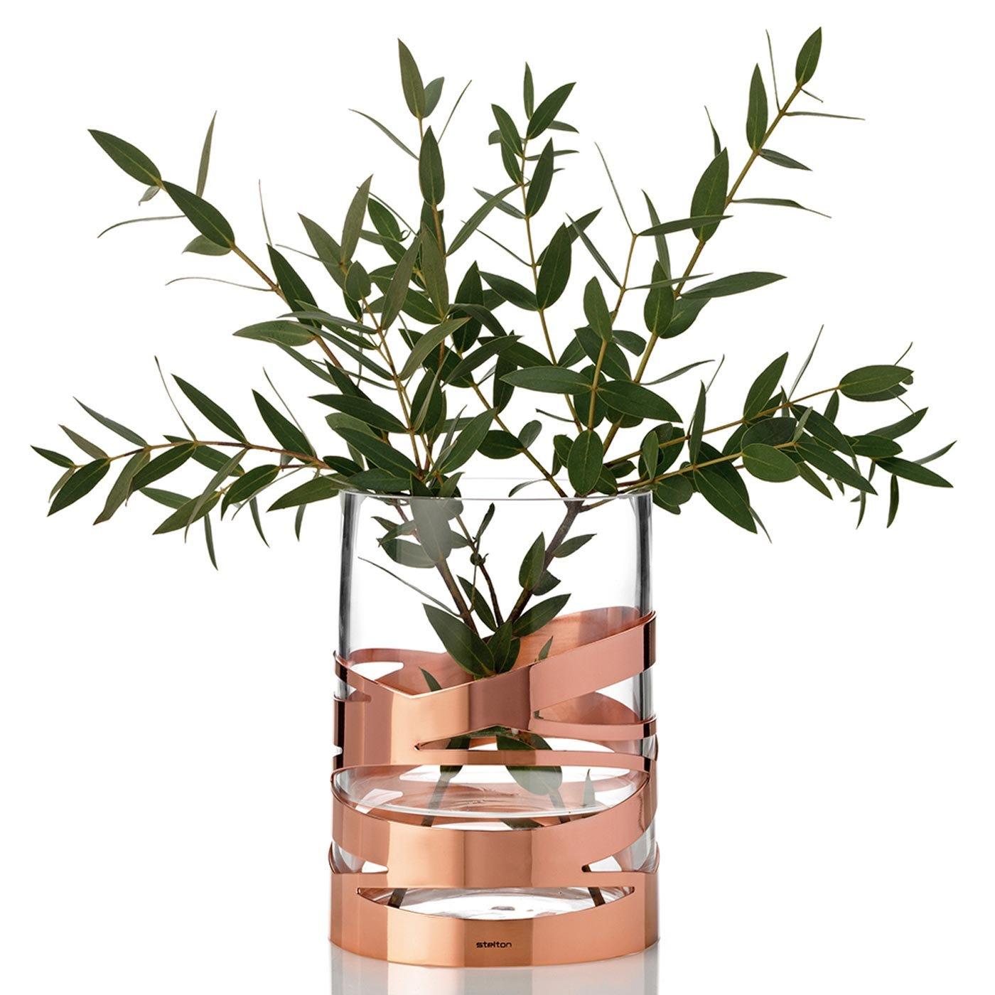 stelton copper tangle vase heal s. Black Bedroom Furniture Sets. Home Design Ideas