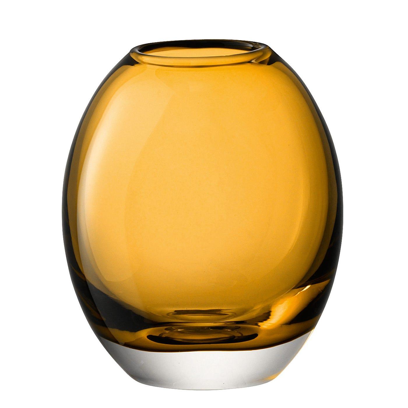 Molten Amber Vase
