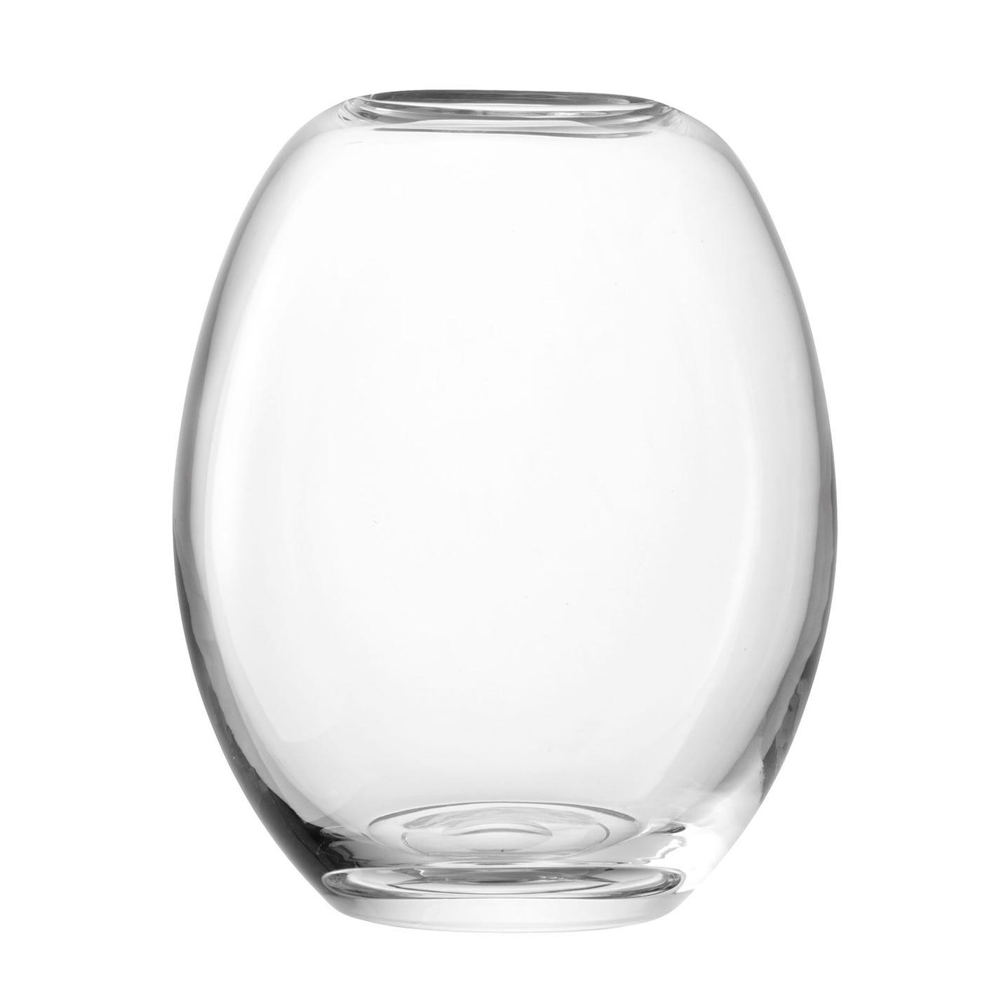 Molten Clear Vase