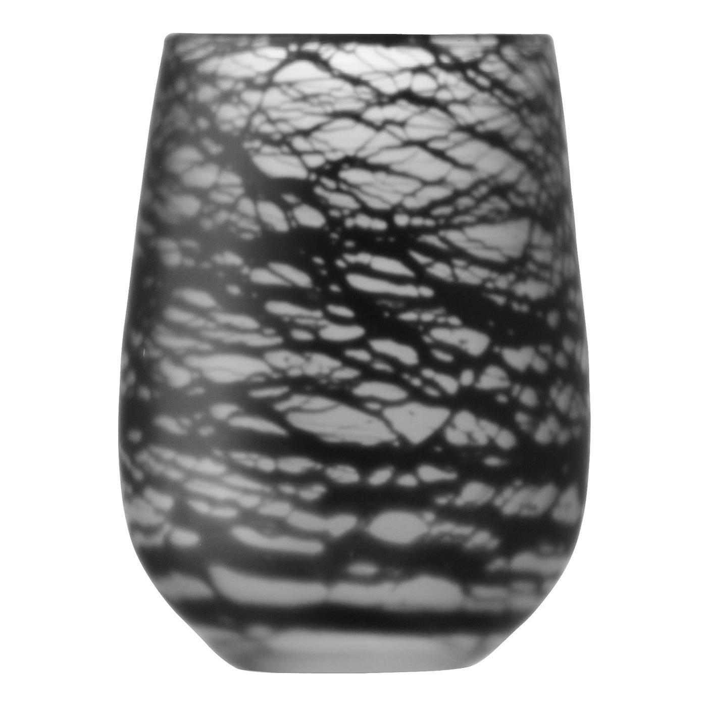 Silk Black Vase
