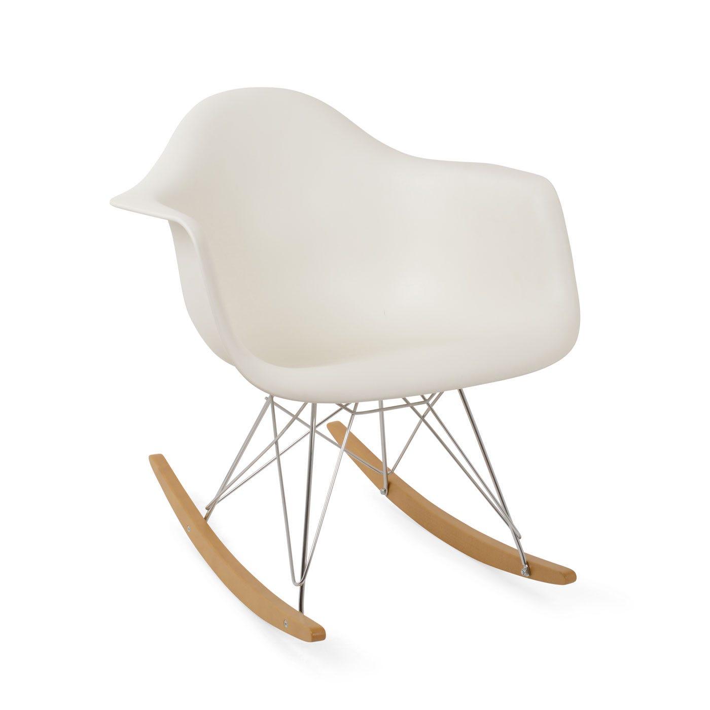 Vitra eames rar rocking chair heal s for Eames plastic replica