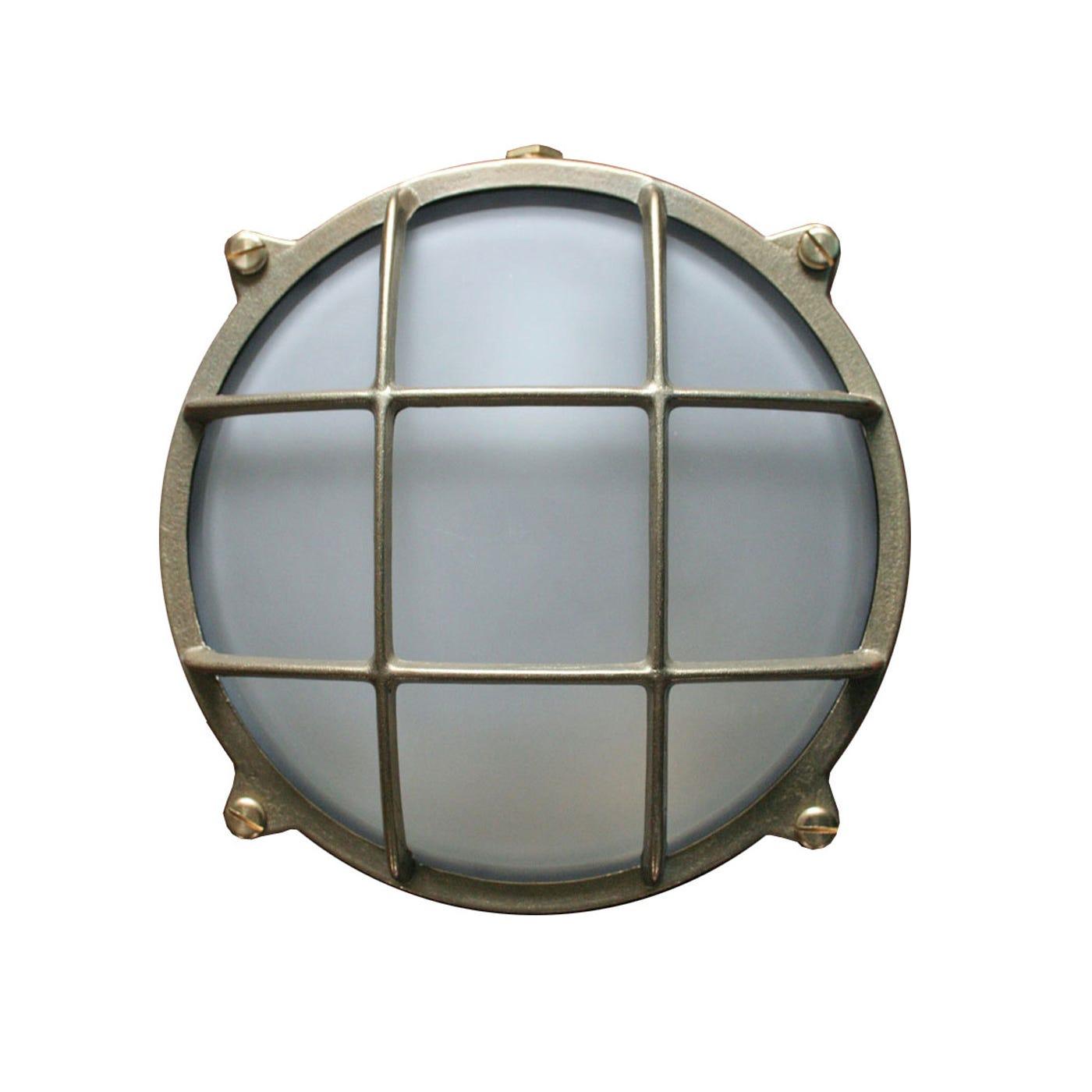 Round Bulkhead Wall Light