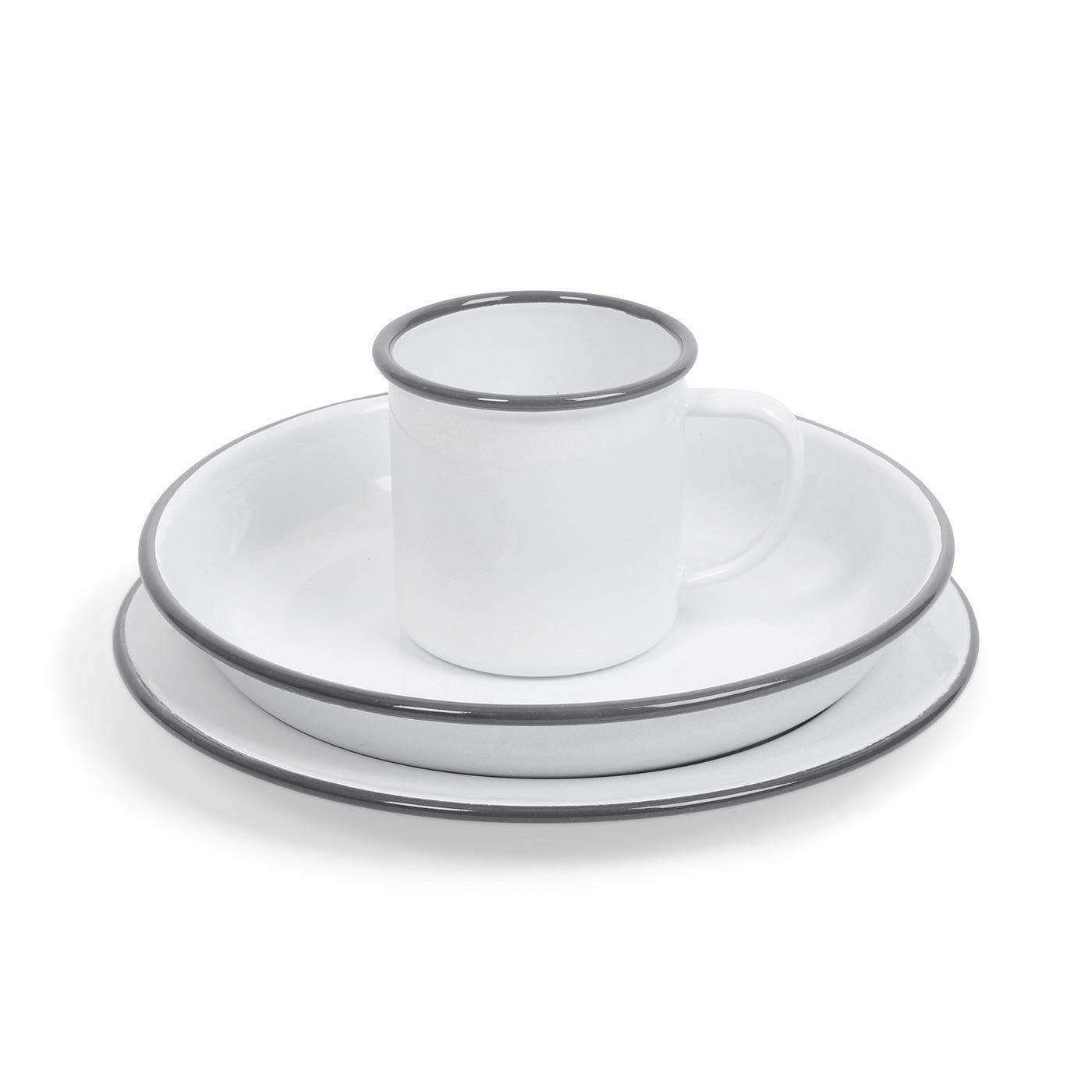 Falcon Dinnerware Grey