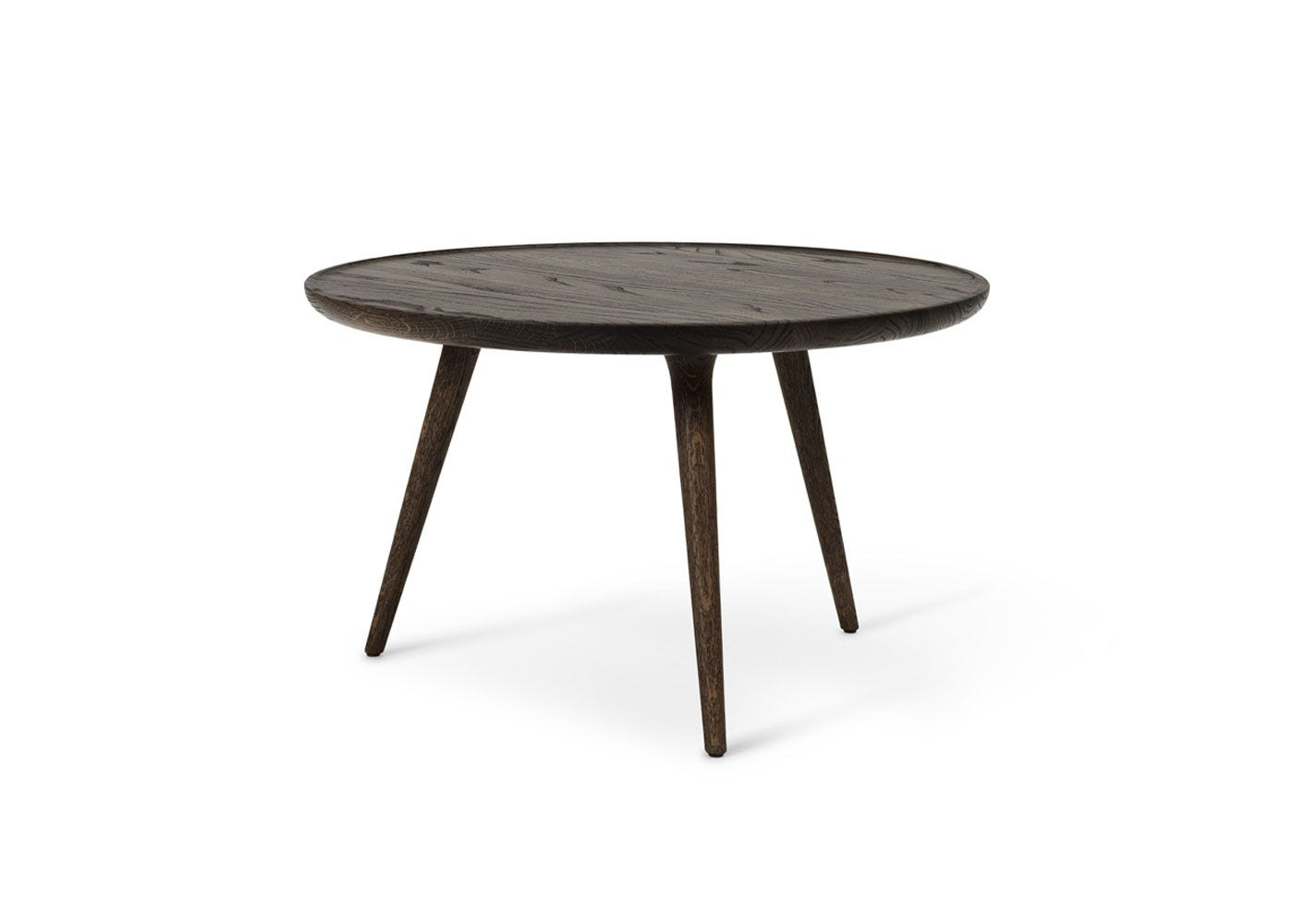 As Shown: Accent Side Table Sirka Grey Stained Oak in Extra Large