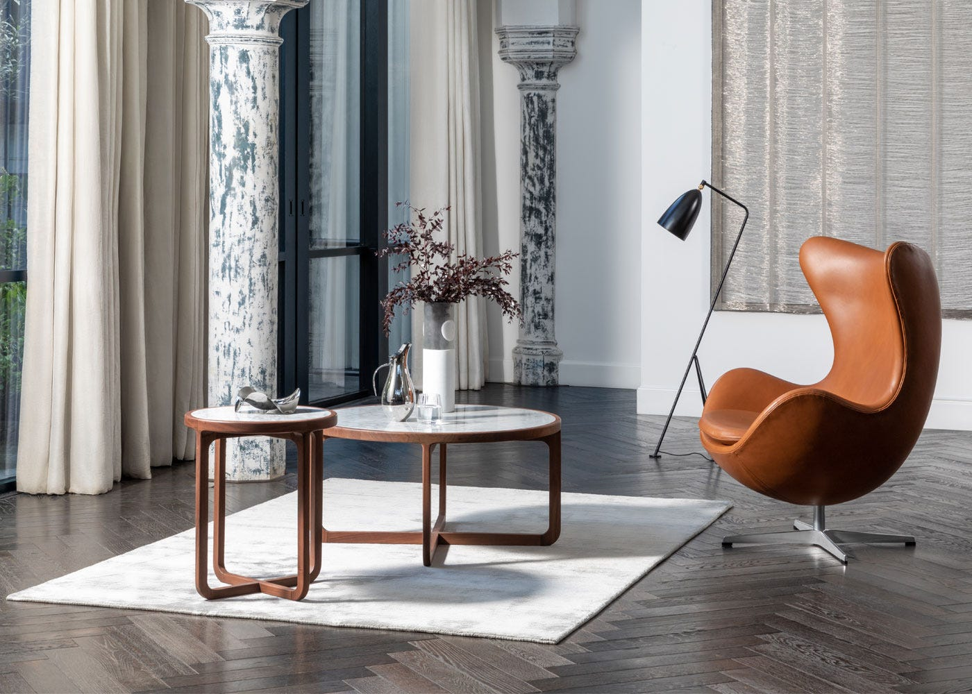 As shown: Anais coffee & side tables.