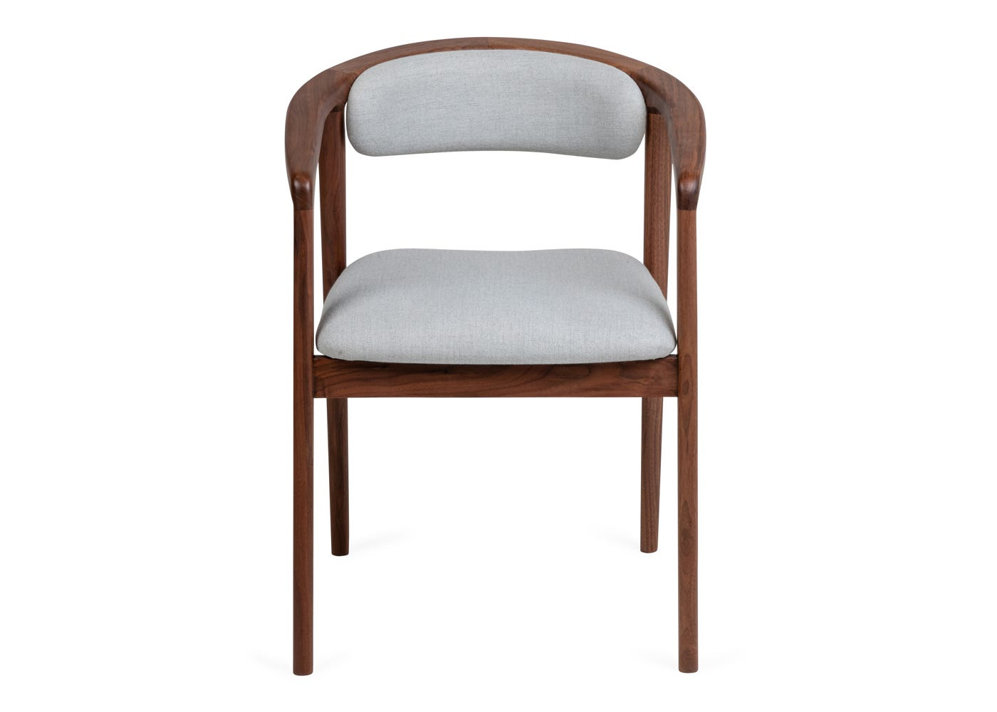 As shown Anais Dining Chair - Front profile.