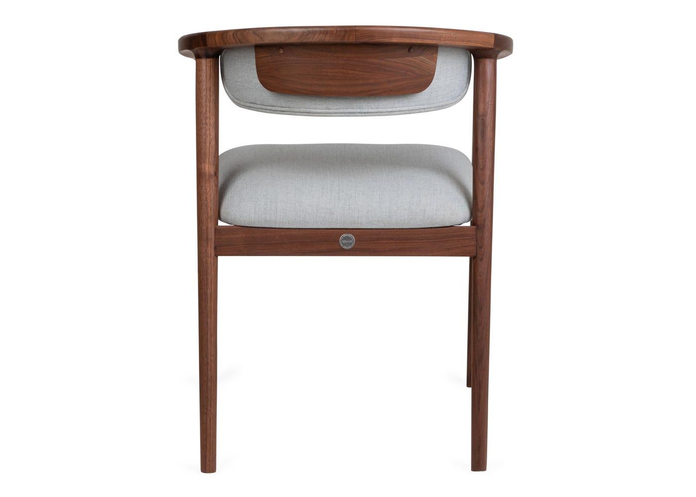 As shown Anais Dining Chair - Rear profile.