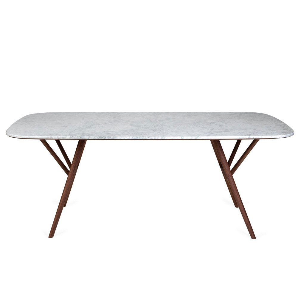 Anais Dining Table White Marble