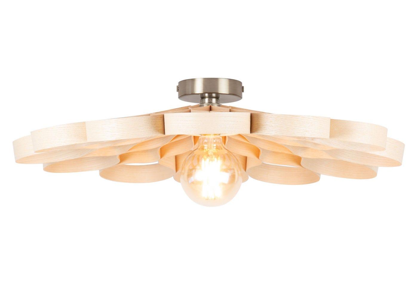 Arame Flush Ceiling Light Ash.